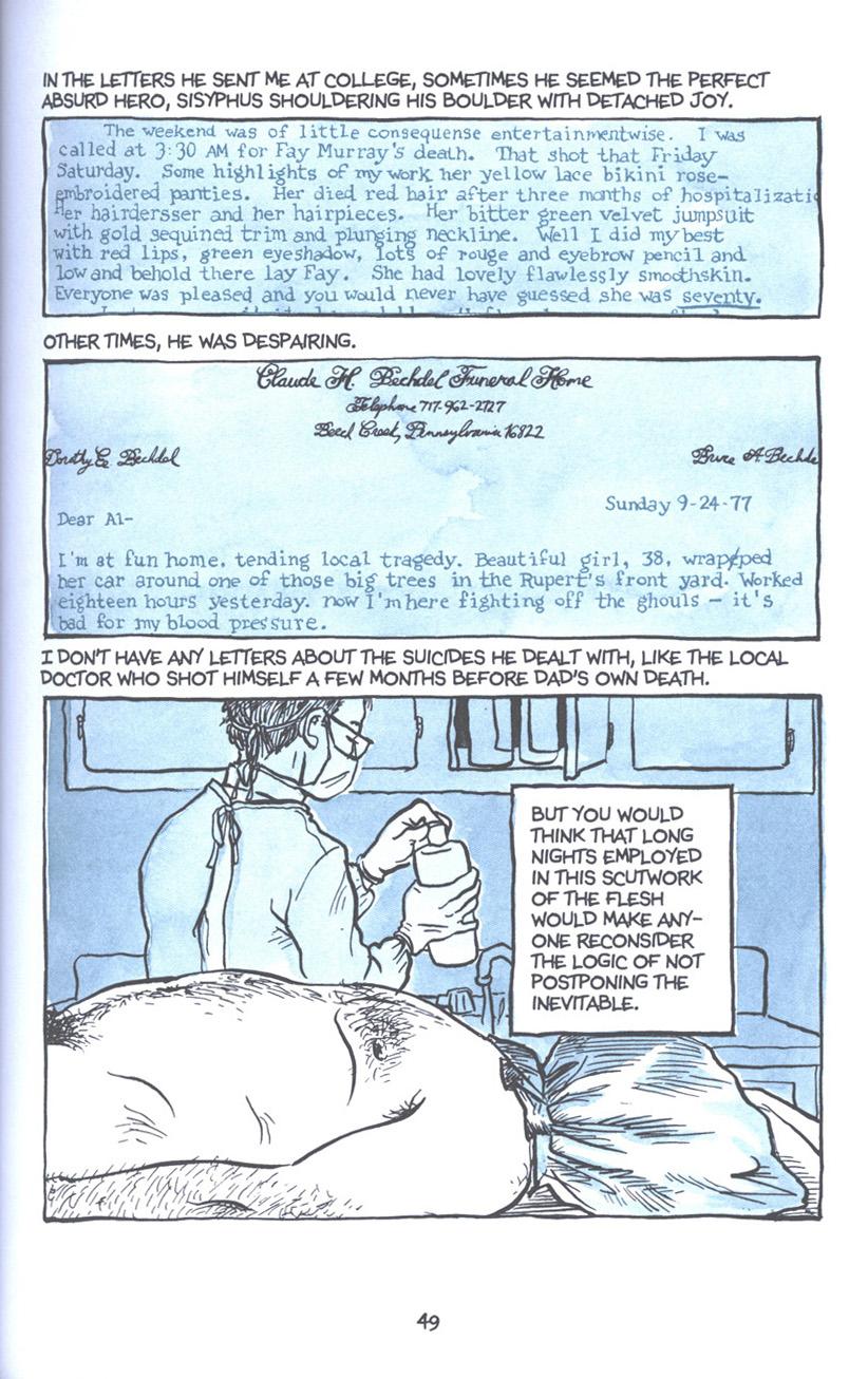 Read online Fun Home: A Family Tragicomic comic -  Issue # TPB - 56