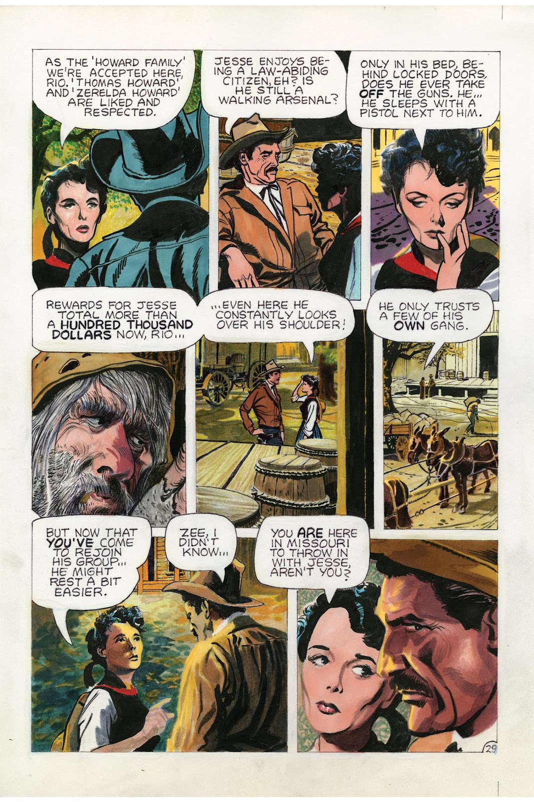 Read online Doug Wildey's Rio: The Complete Saga comic -  Issue # TPB (Part 1) - 95