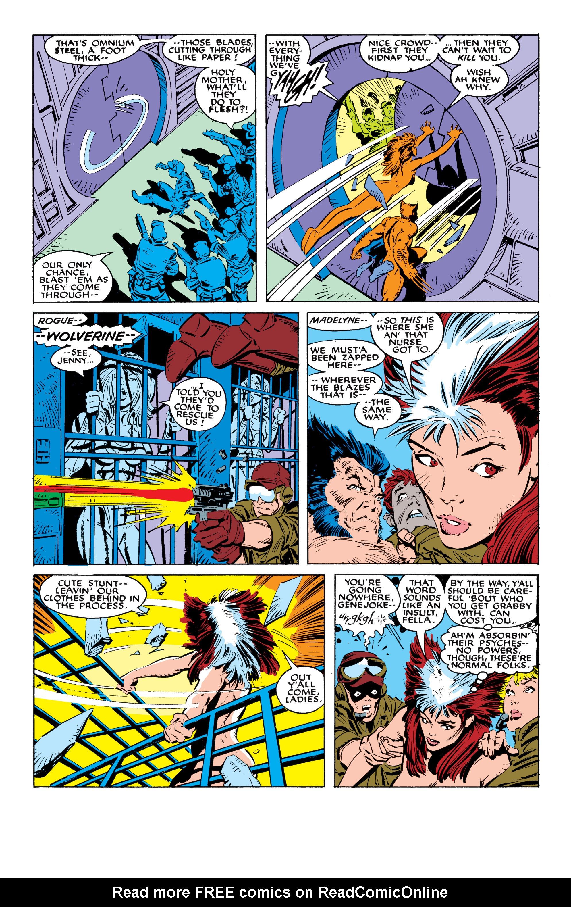 Read online Uncanny X-Men (1963) comic -  Issue #236 - 4
