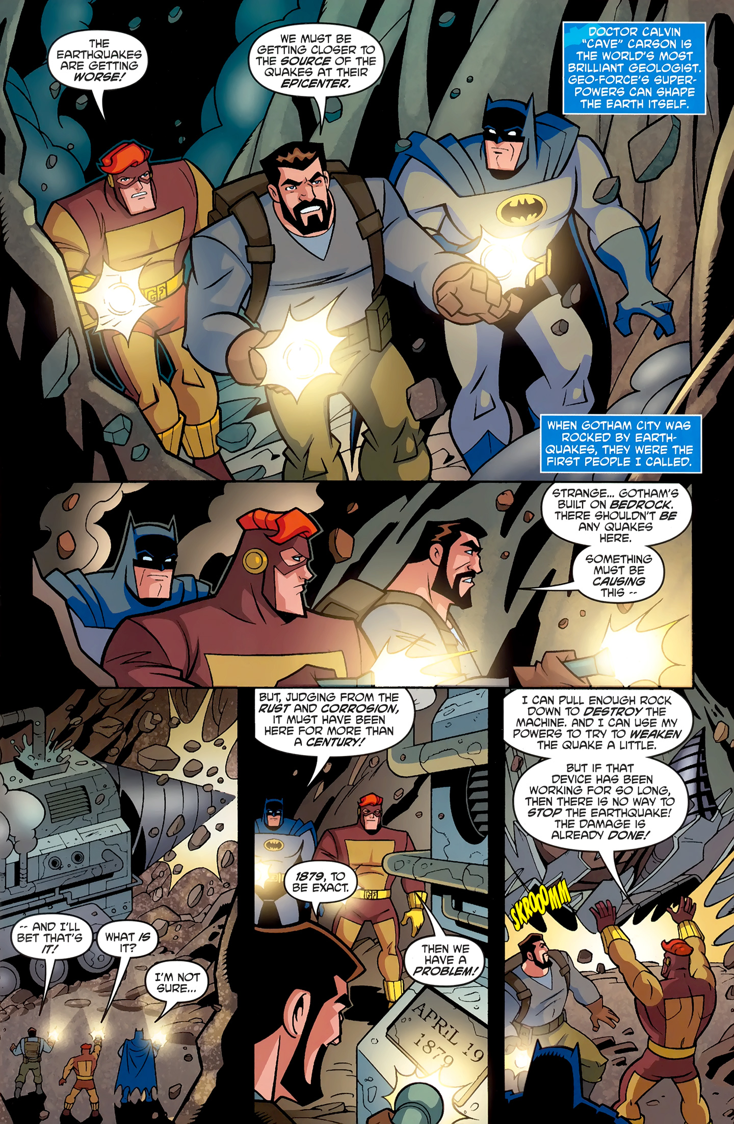 The All New Batman: The Brave and The Bold 11 Page 2