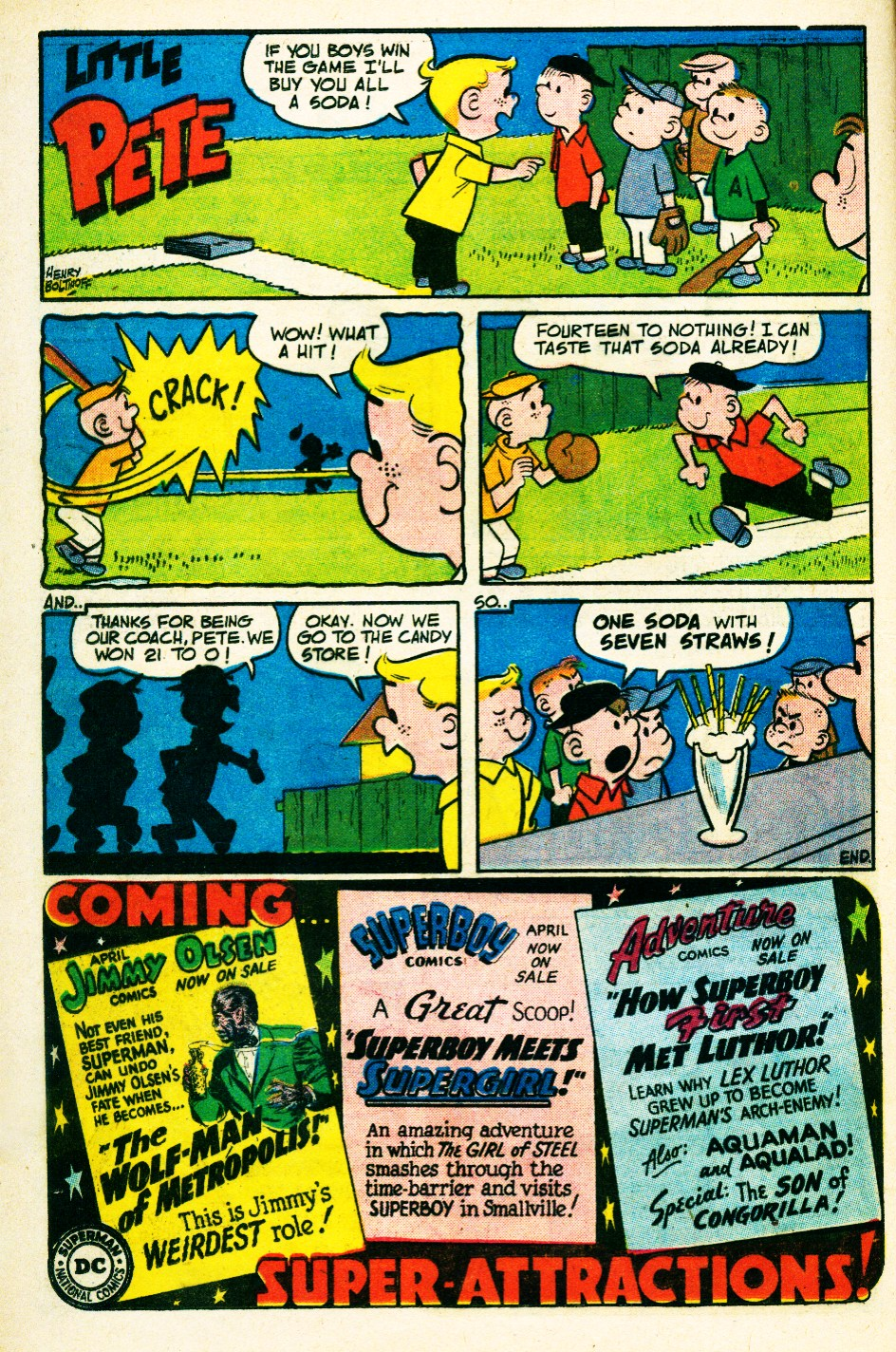 Read online Action Comics (1938) comic -  Issue #263 - 16