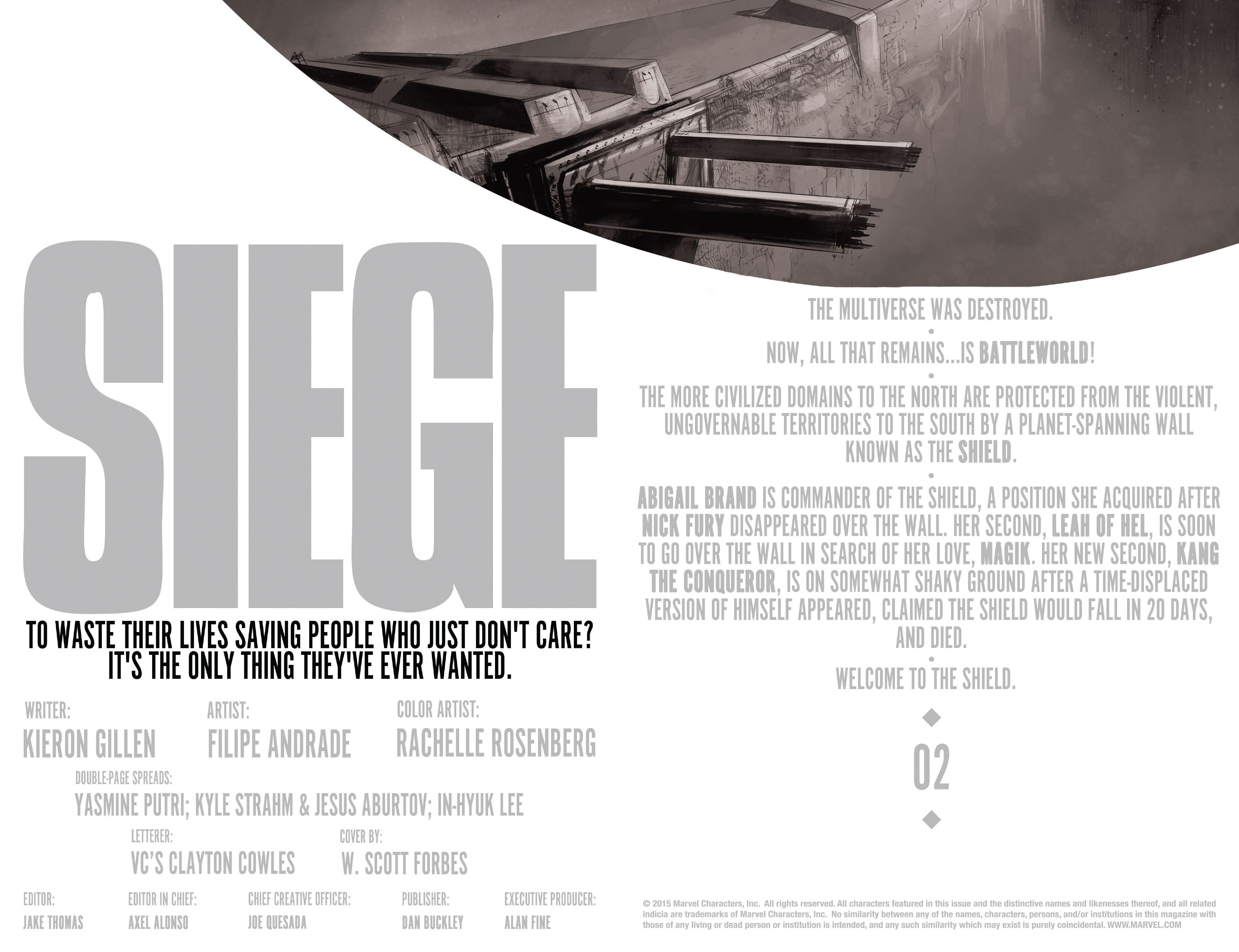 Read online Siege (2015) comic -  Issue #2 - 5