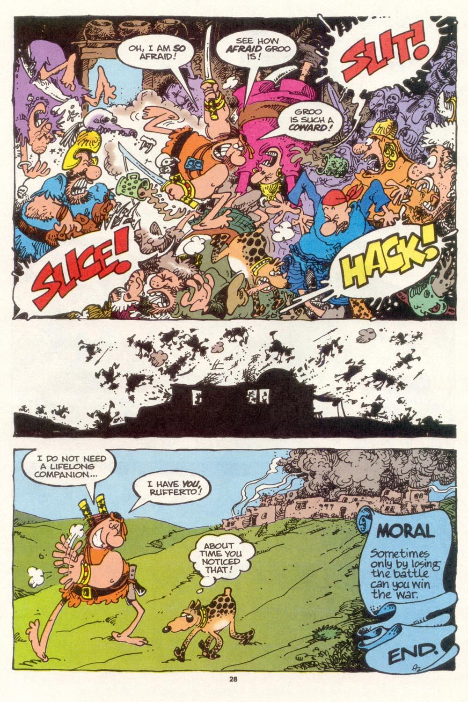 Read online Sergio Aragonés Groo the Wanderer comic -  Issue #117 - 30