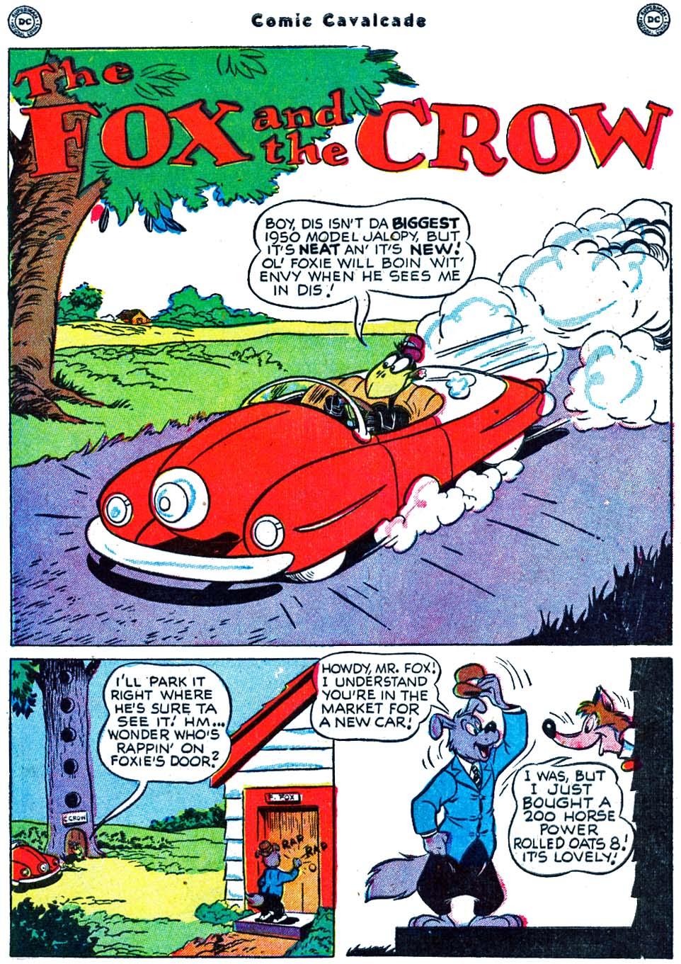 Comic Cavalcade issue 39 - Page 3