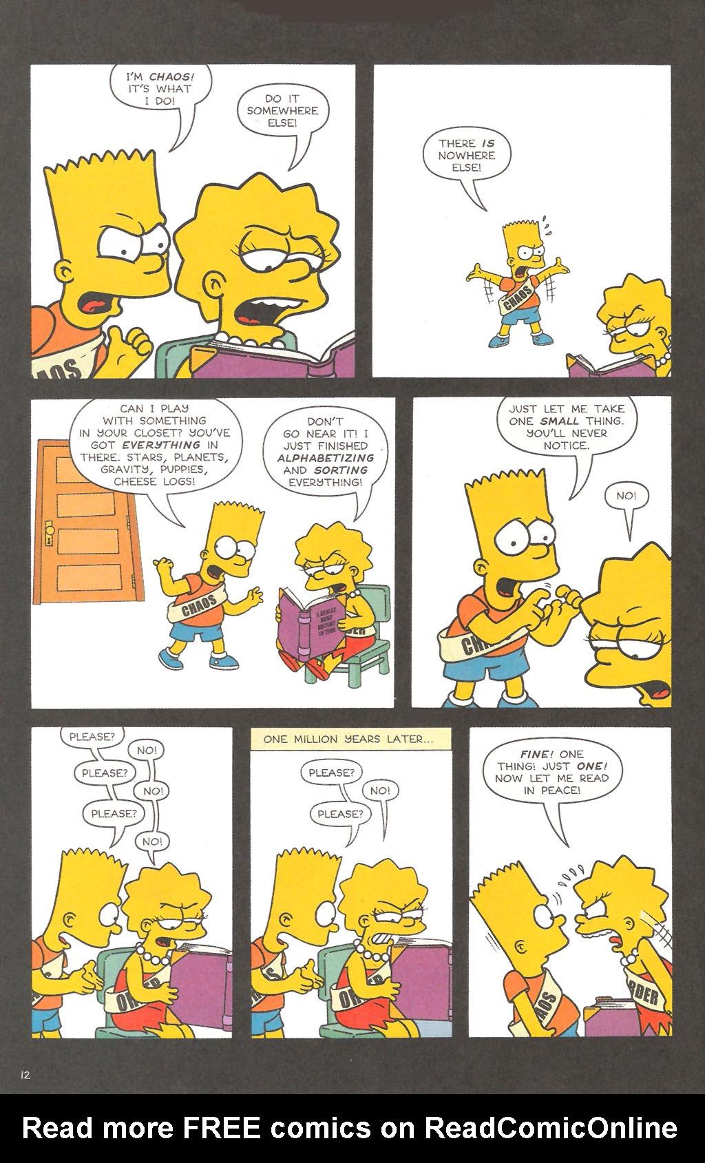 Read online Simpsons Comics comic -  Issue #111 - 13