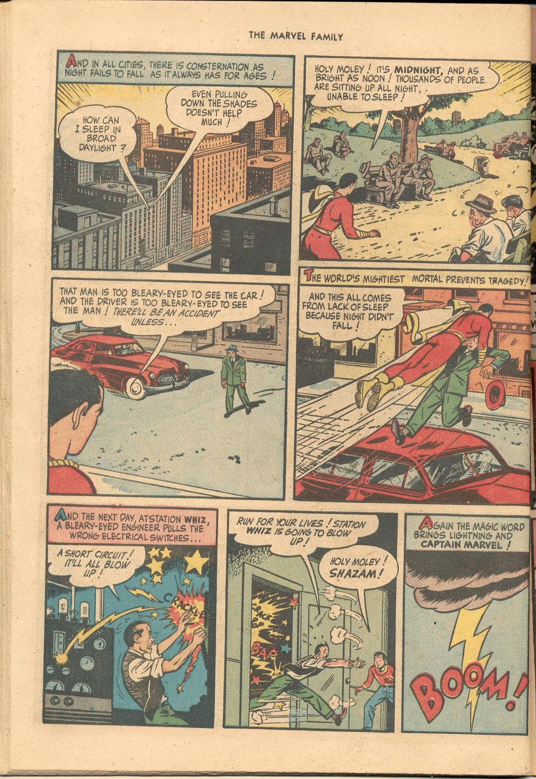 The Marvel Family issue 38 - Page 44