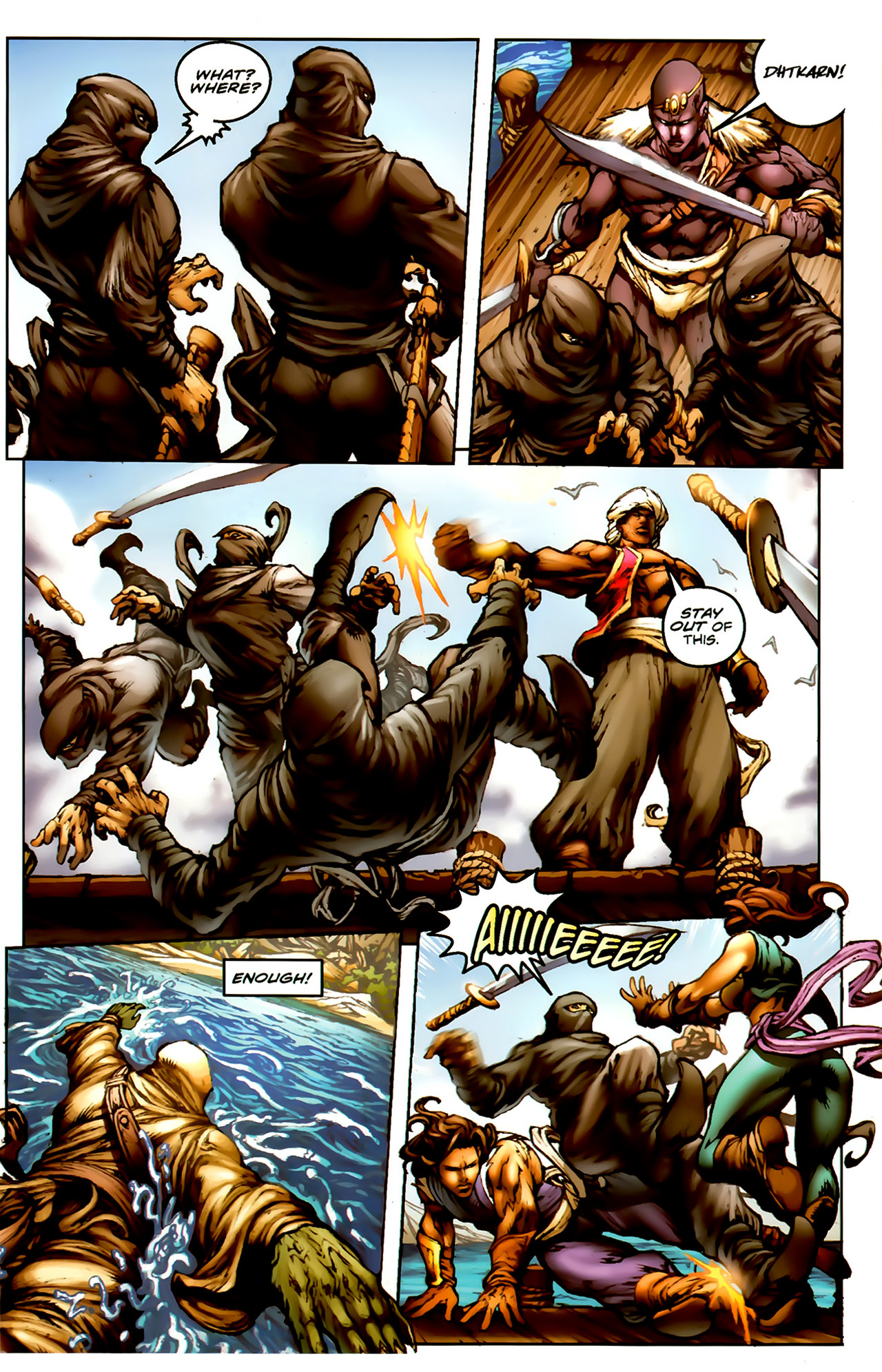 Read online 1001 Arabian Nights: The Adventures of Sinbad comic -  Issue #1 - 13