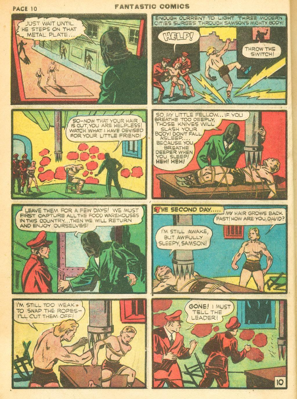 Read online Fantastic Comics comic -  Issue #12 - 12