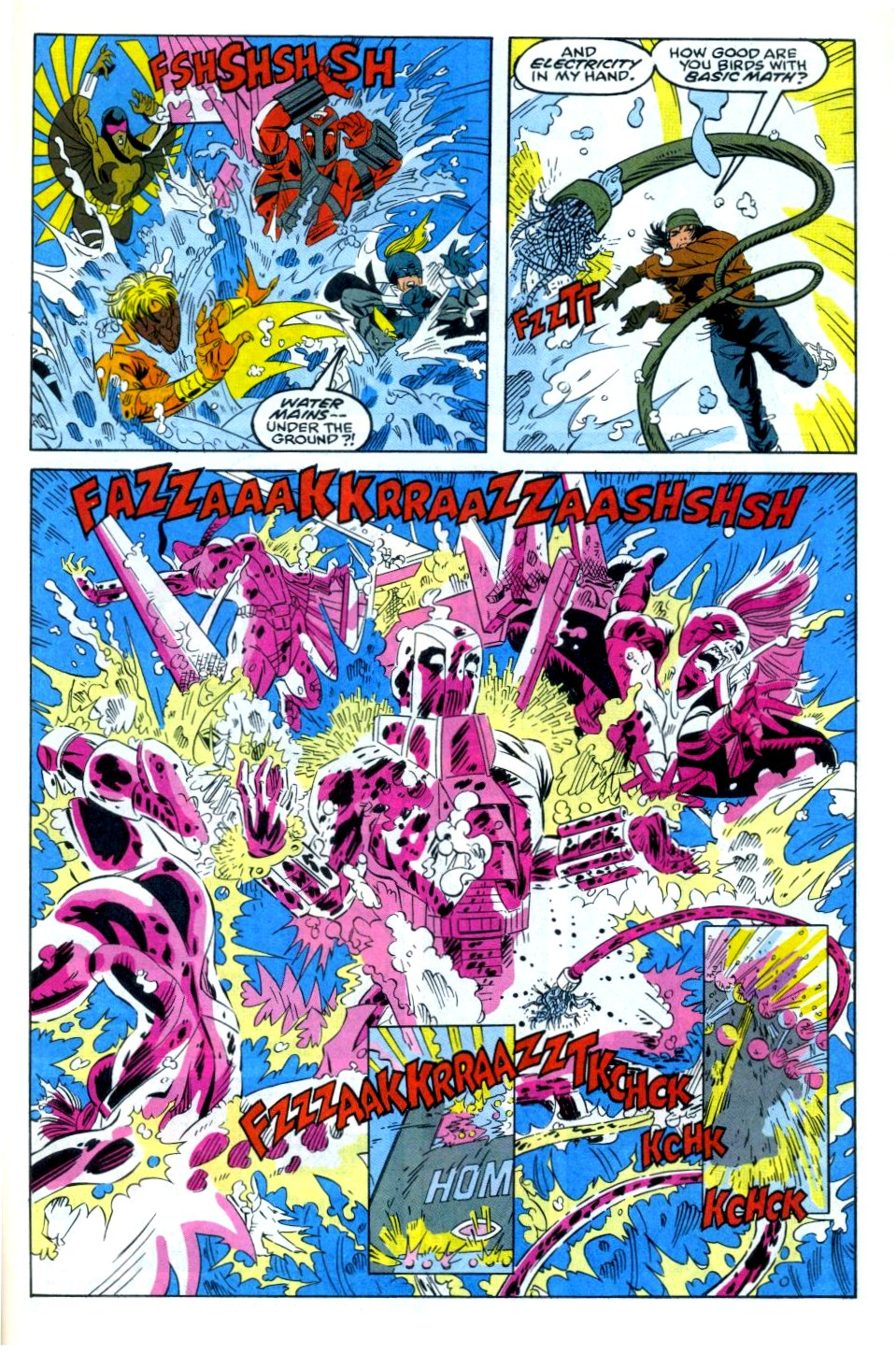 The New Warriors Issue #35 #39 - English 22