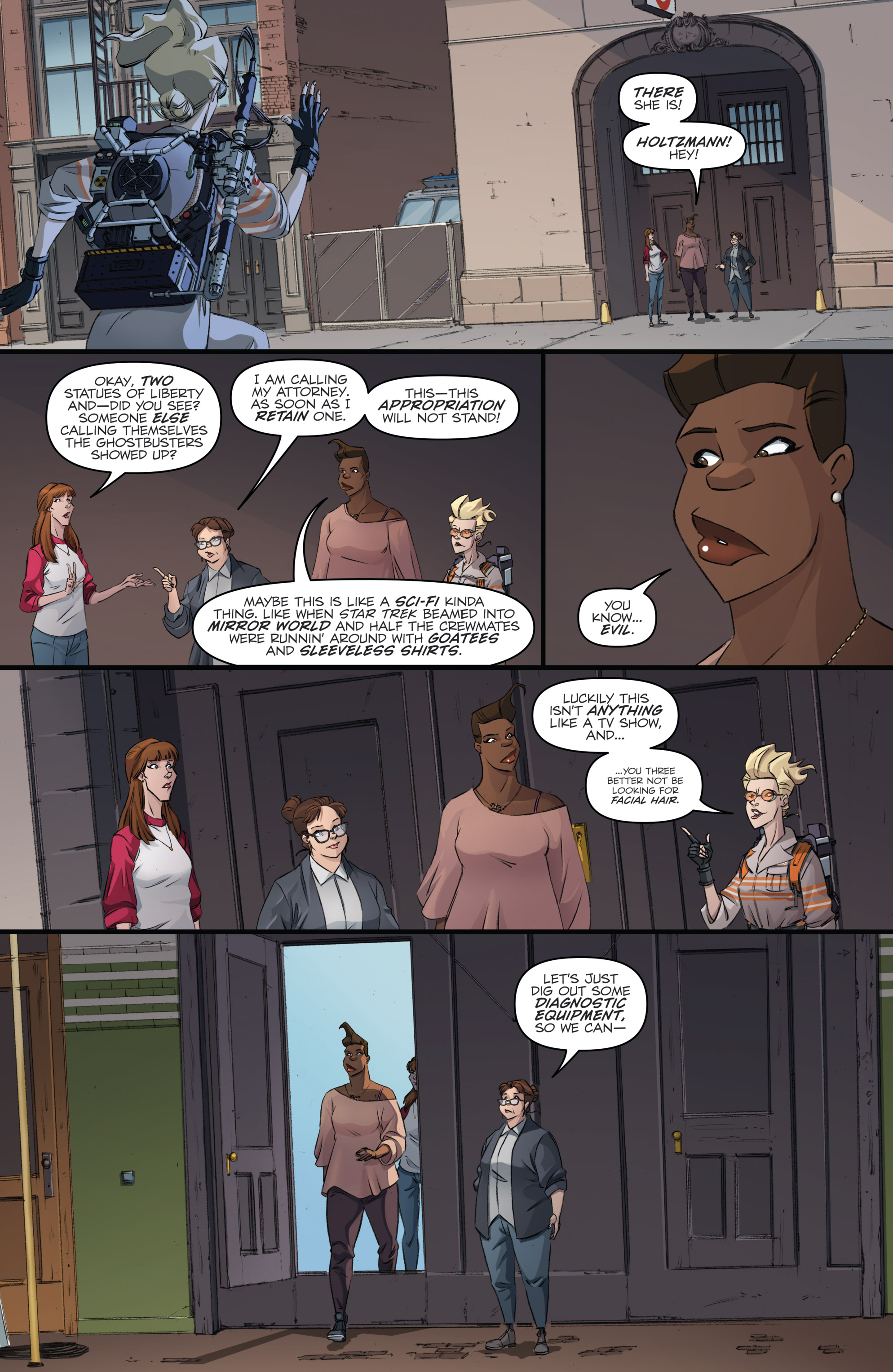 Read online Ghostbusters 101 comic -  Issue #3 - 12