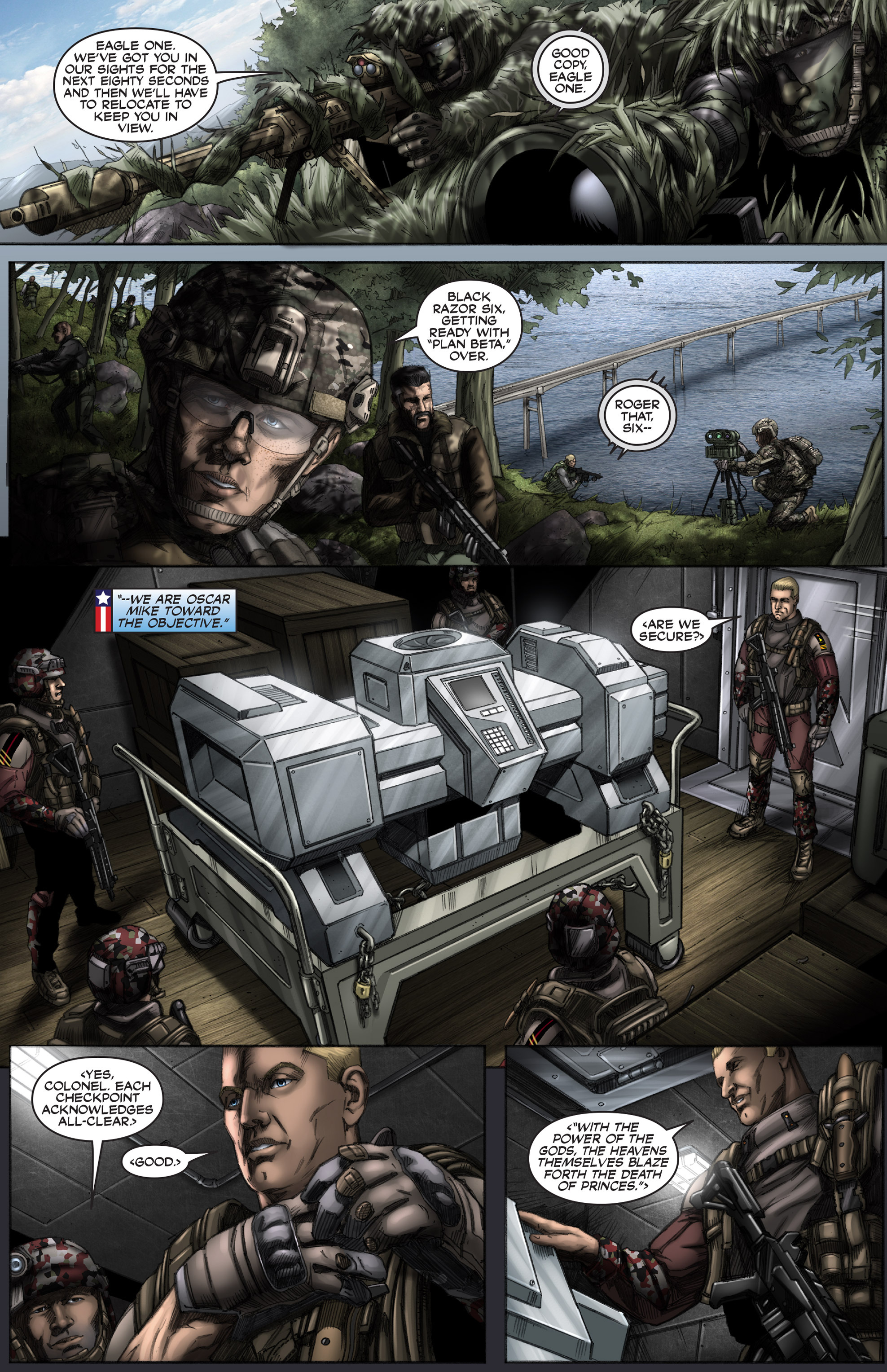 Read online America's Army comic -  Issue #12 - 9