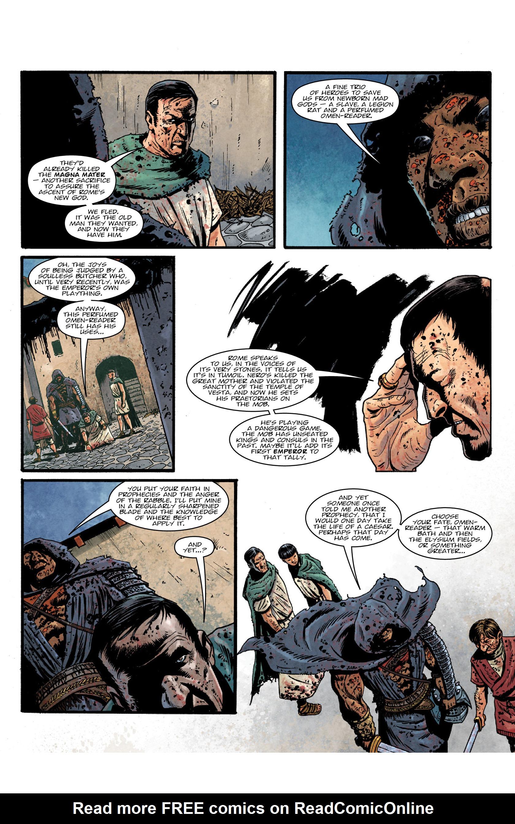 Read online Aquila comic -  Issue #5 - 11