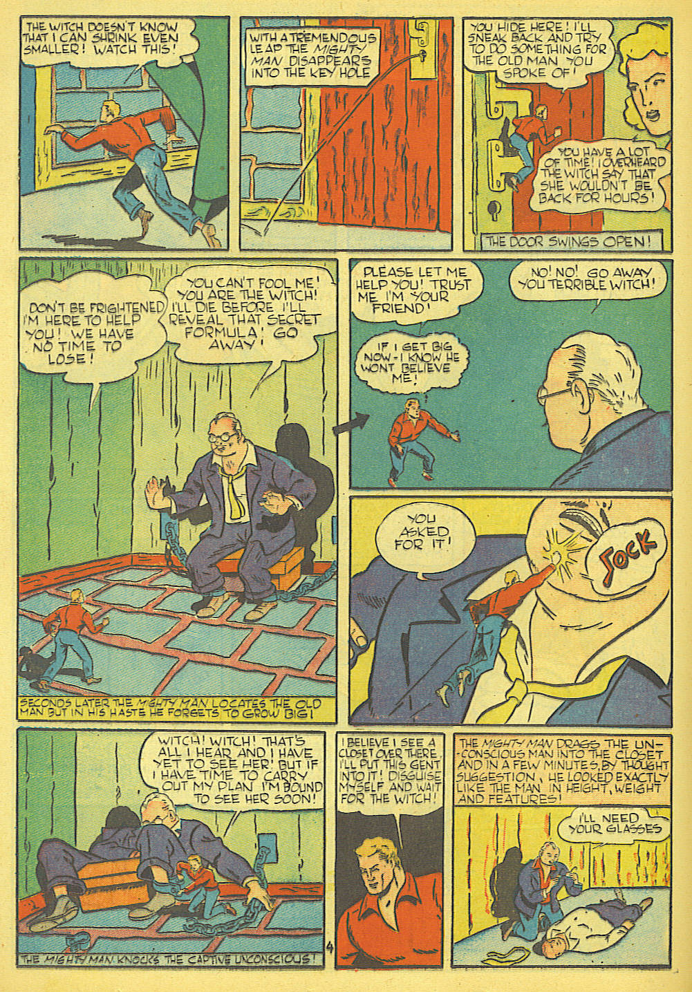 Read online Amazing Man Comics comic -  Issue #19 - 38