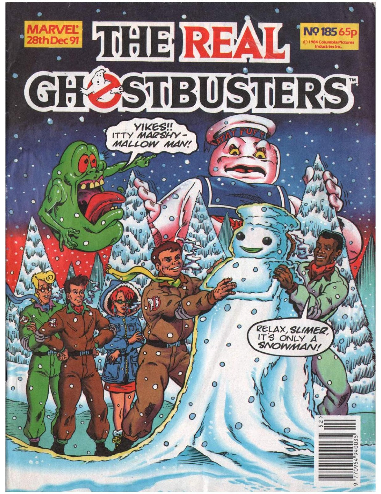 The Real Ghostbusters 185 Page 1