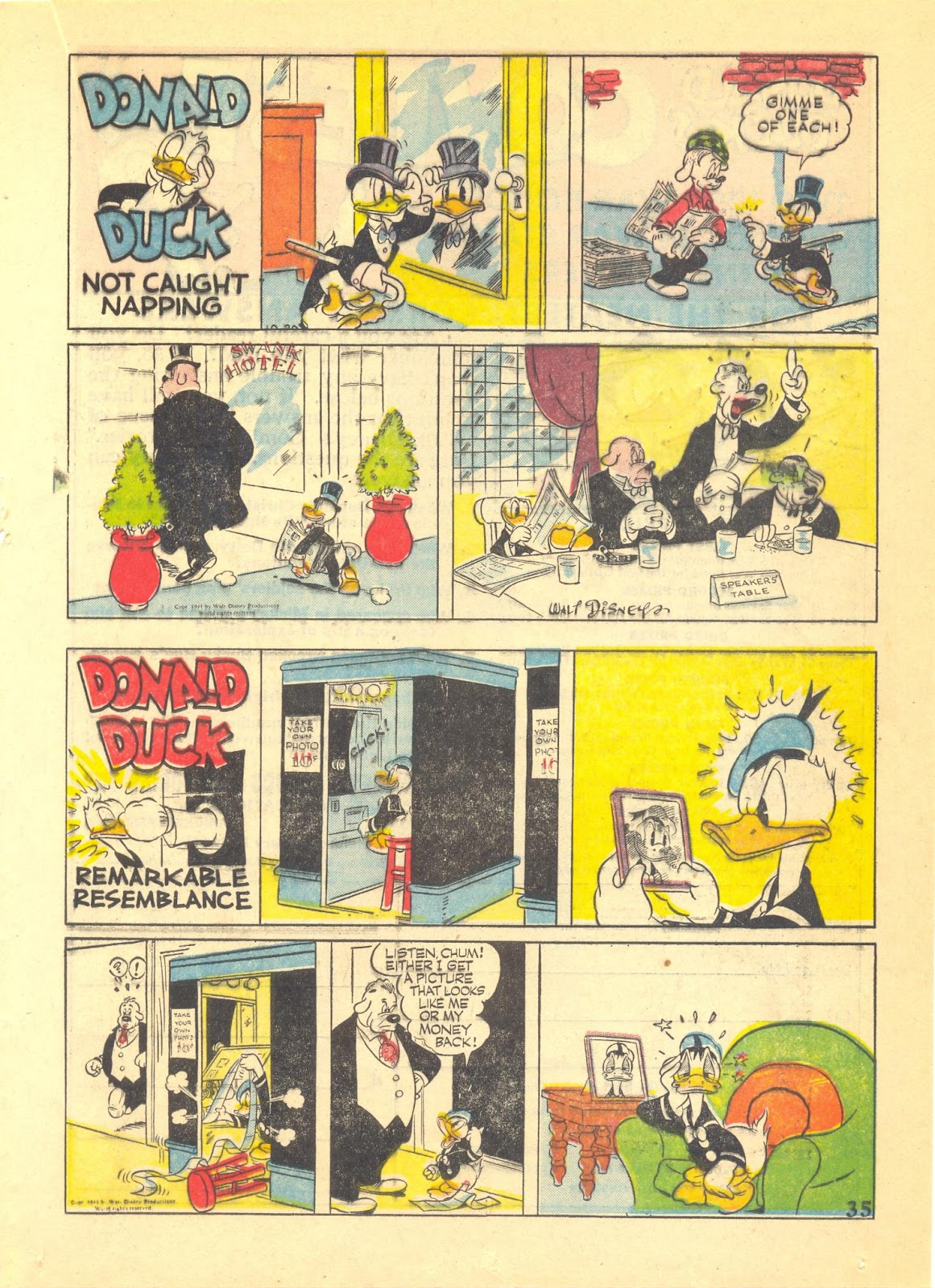 Walt Disney's Comics and Stories issue 40 - Page 37