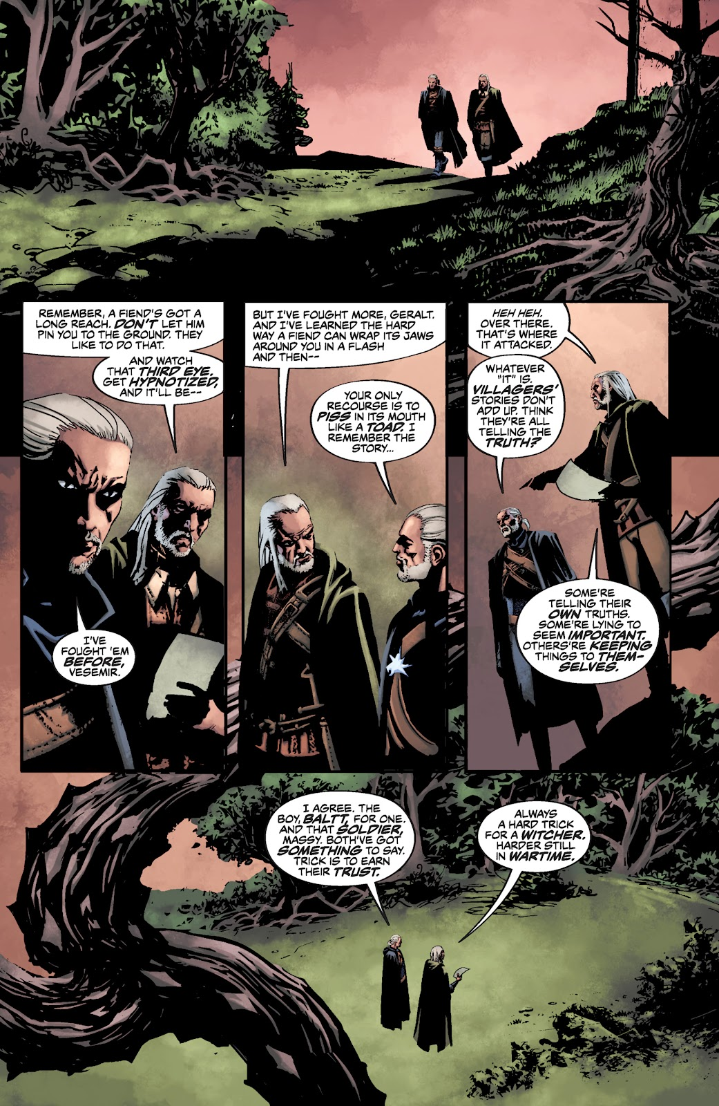 Read online The Witcher Omnibus comic -  Issue # TPB (Part 3) - 63
