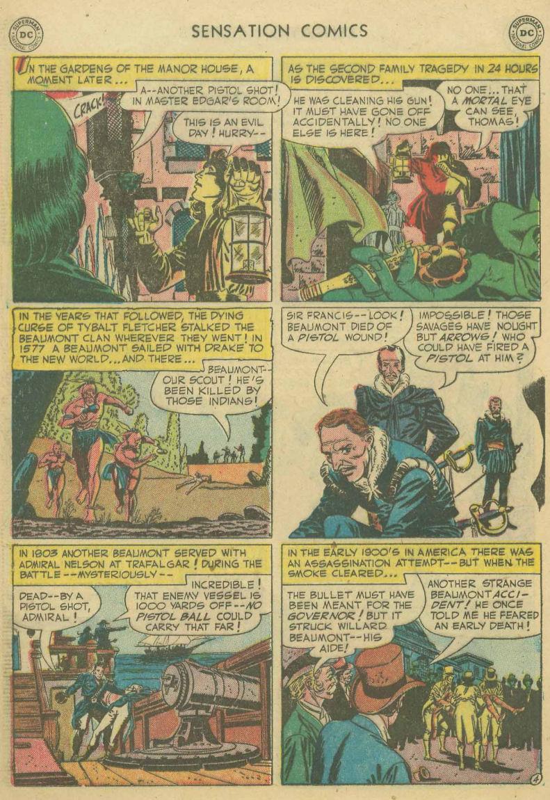 Read online Sensation (Mystery) Comics comic -  Issue #107 - 16