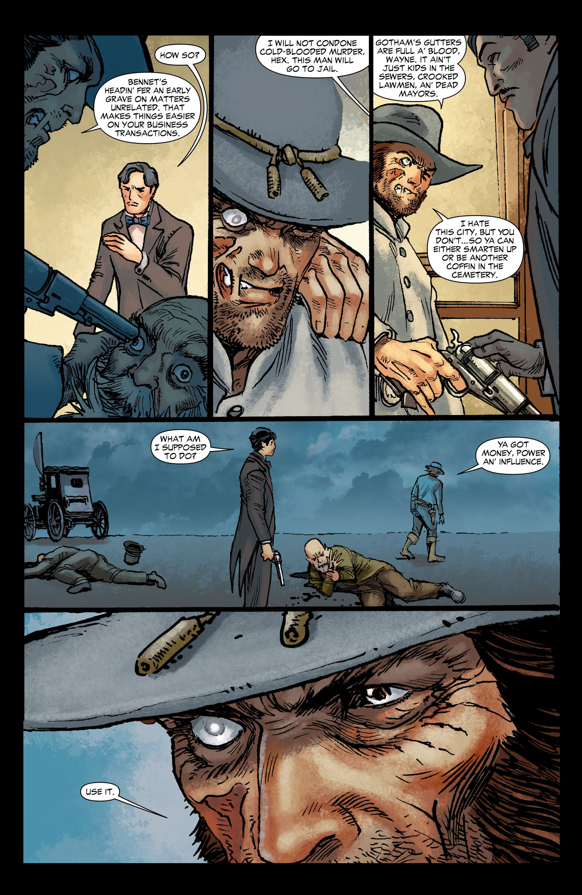 Read online All-Star Western (2011) comic -  Issue #12 - 12