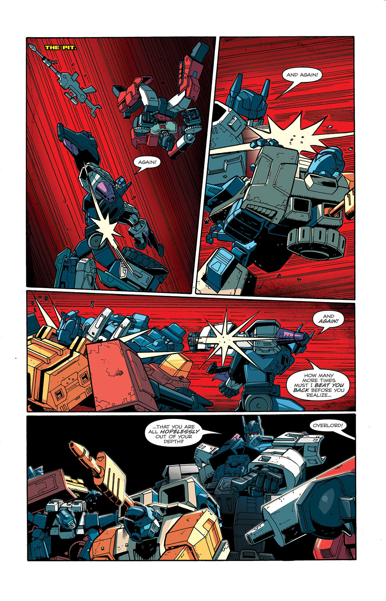 Read online Transformers: Last Stand of The Wreckers comic -  Issue #3 - 16