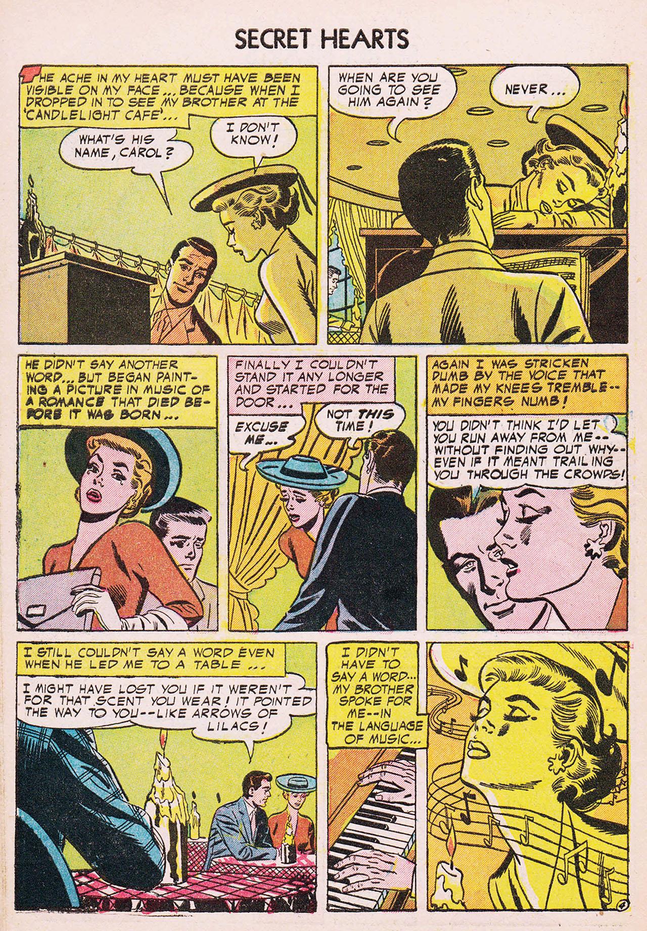 Read online Secret Hearts comic -  Issue #24 - 30