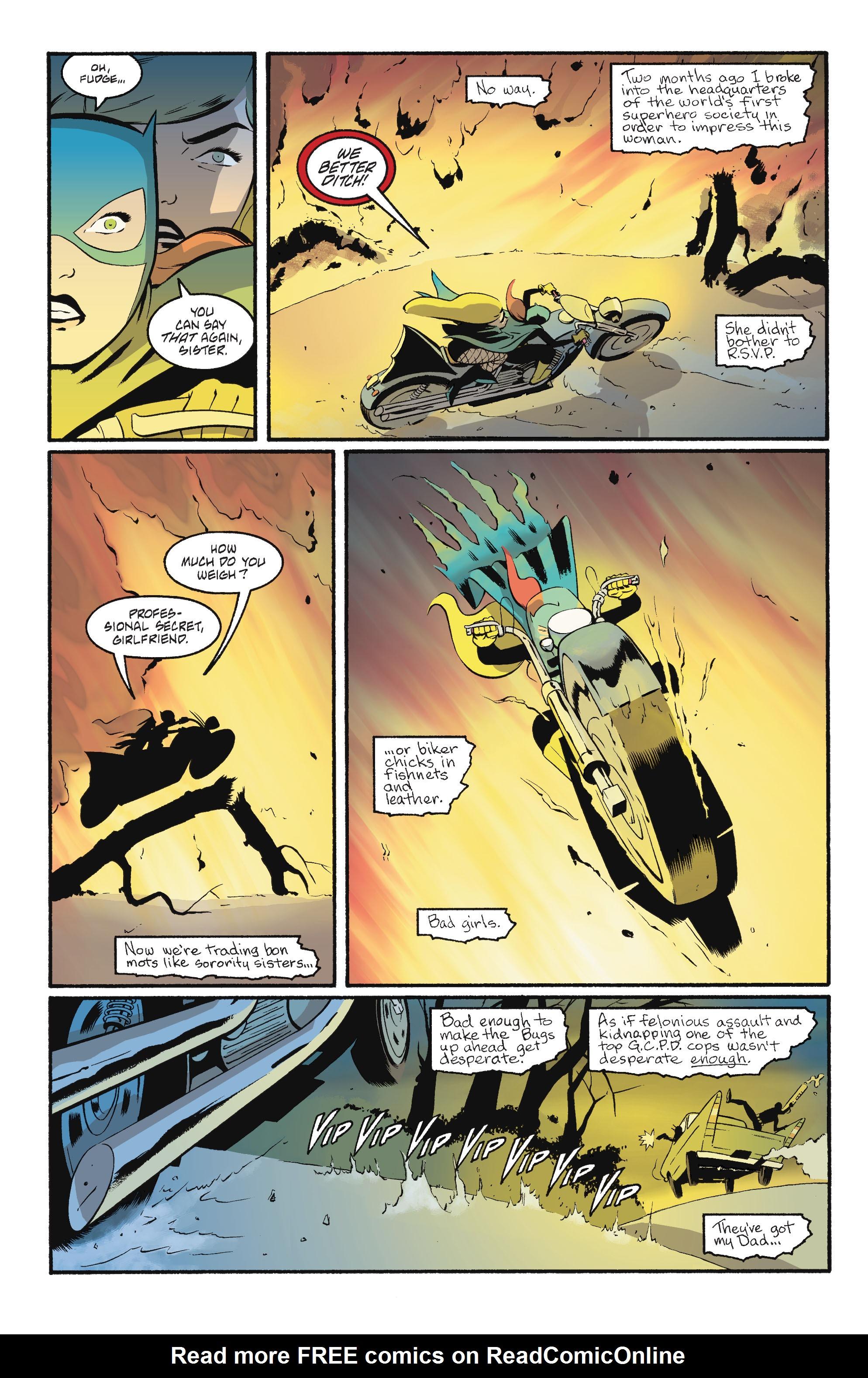 Read online Batgirl/Robin: Year One comic -  Issue # TPB 2 - 117