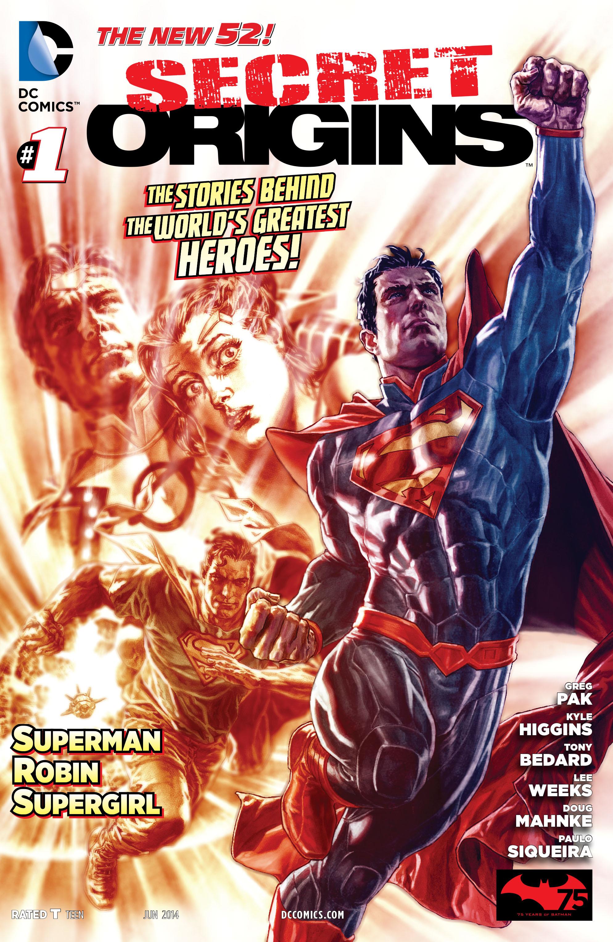 Read online Secret Origins (2014) comic -  Issue #1 - 1