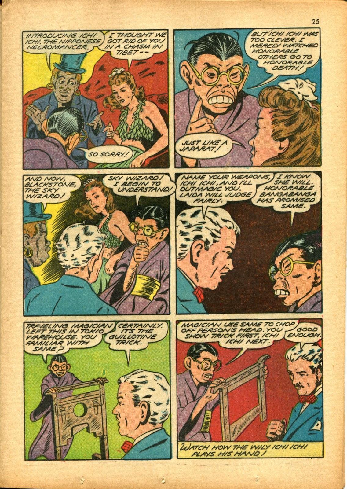 Read online Super-Magician Comics comic -  Issue #15 - 25