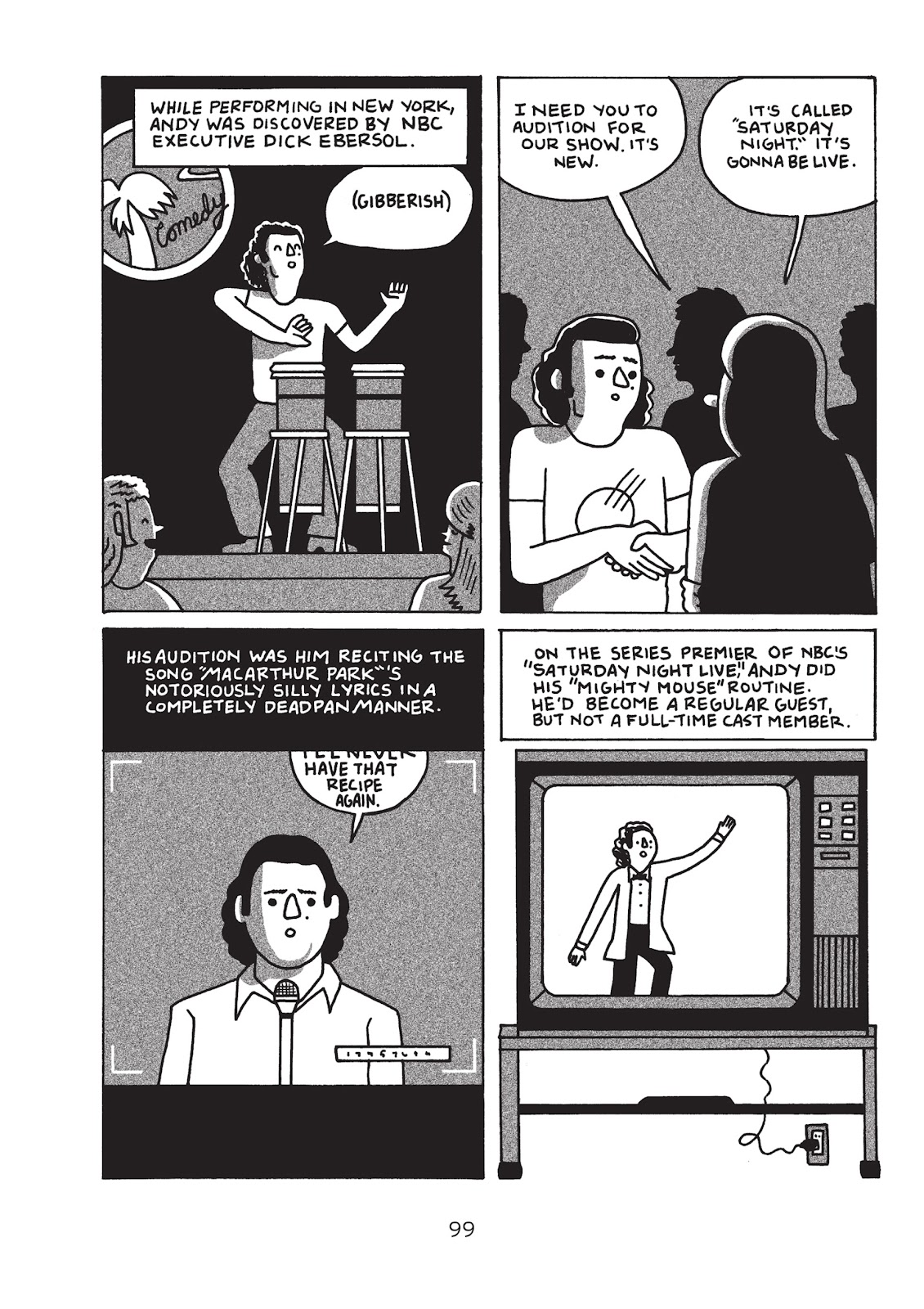 Read online Is This Guy For Real?: The Unbelievable Andy Kaufman comic -  Issue # TPB (Part 2) - 5