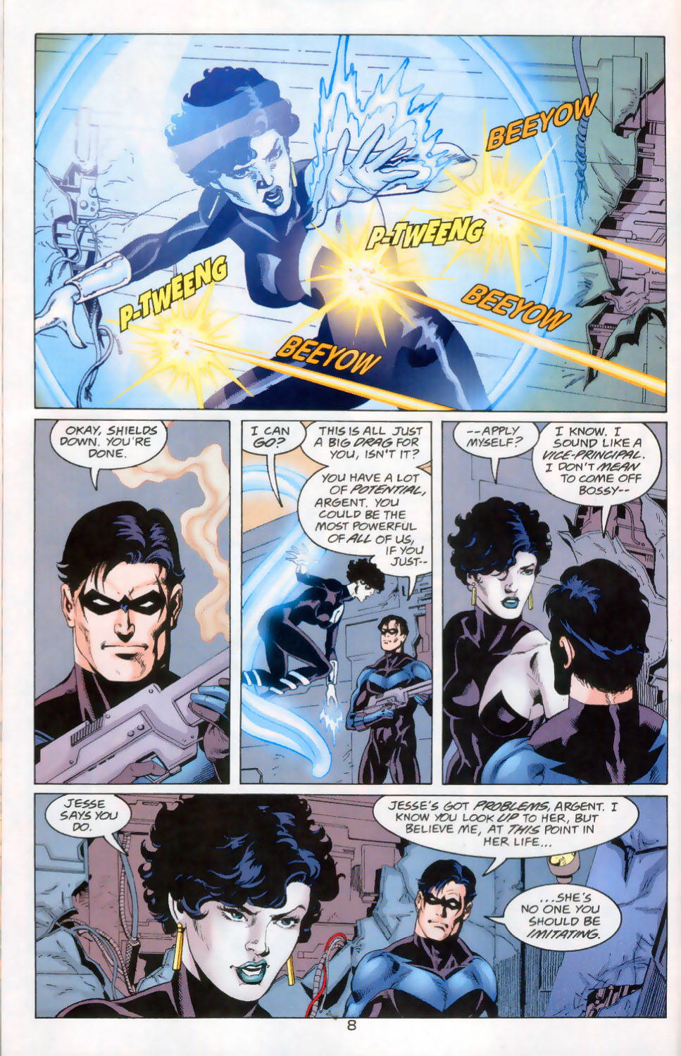 Read online The Titans (1999) comic -  Issue #45 - 9