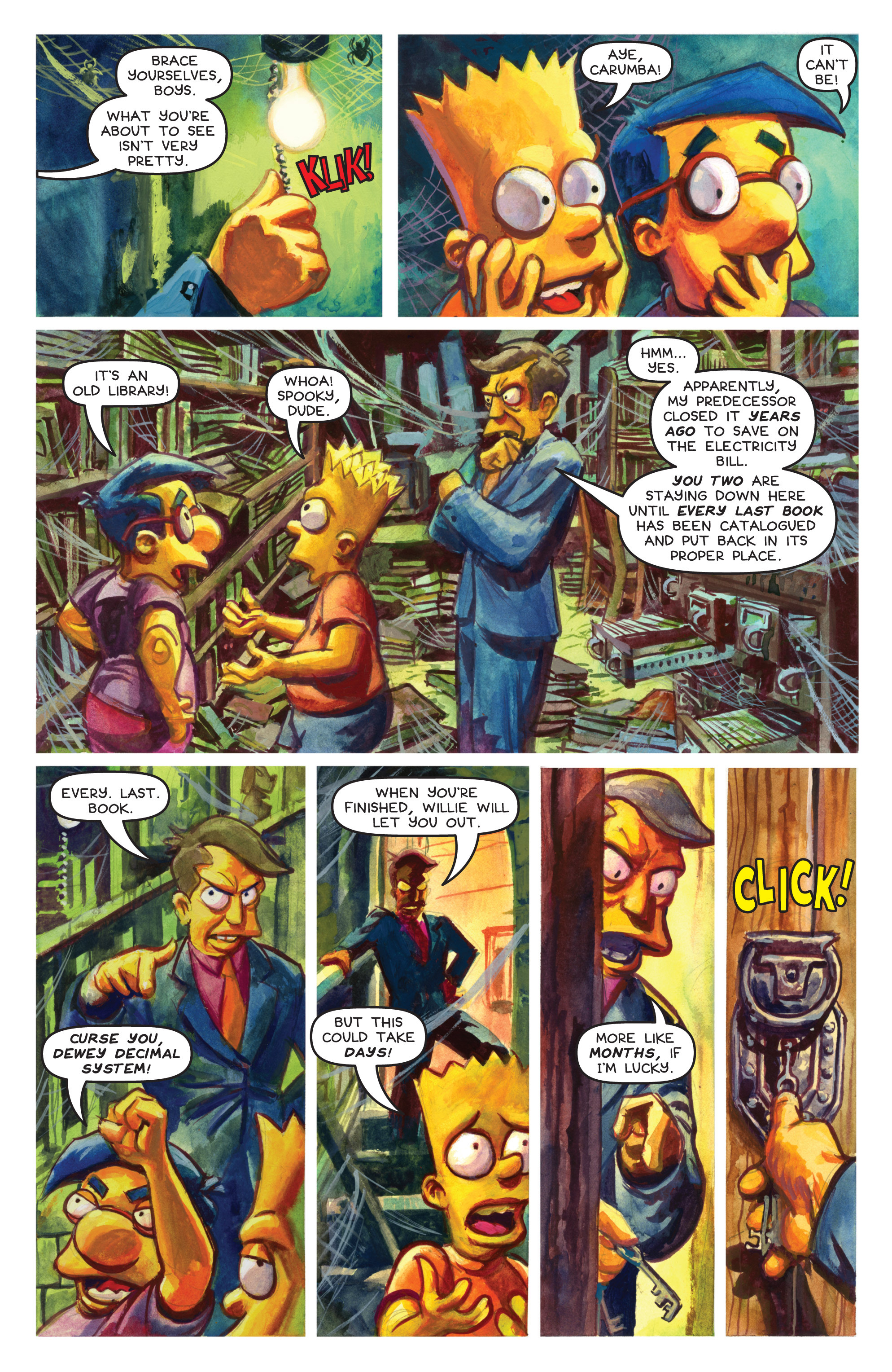 Read online Treehouse of Horror comic -  Issue #19 - 30