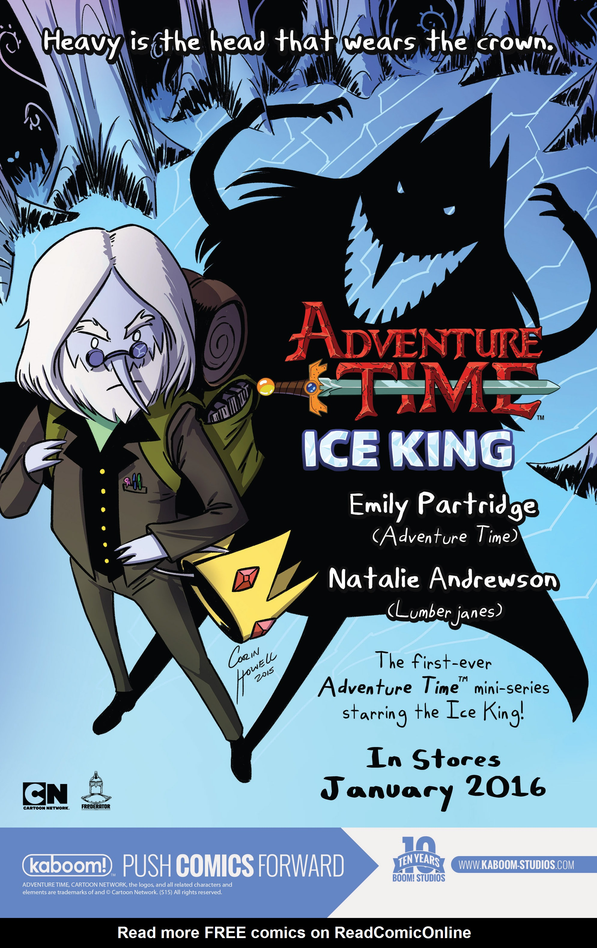 Read online Adventure Time comic -  Issue #46 - 29