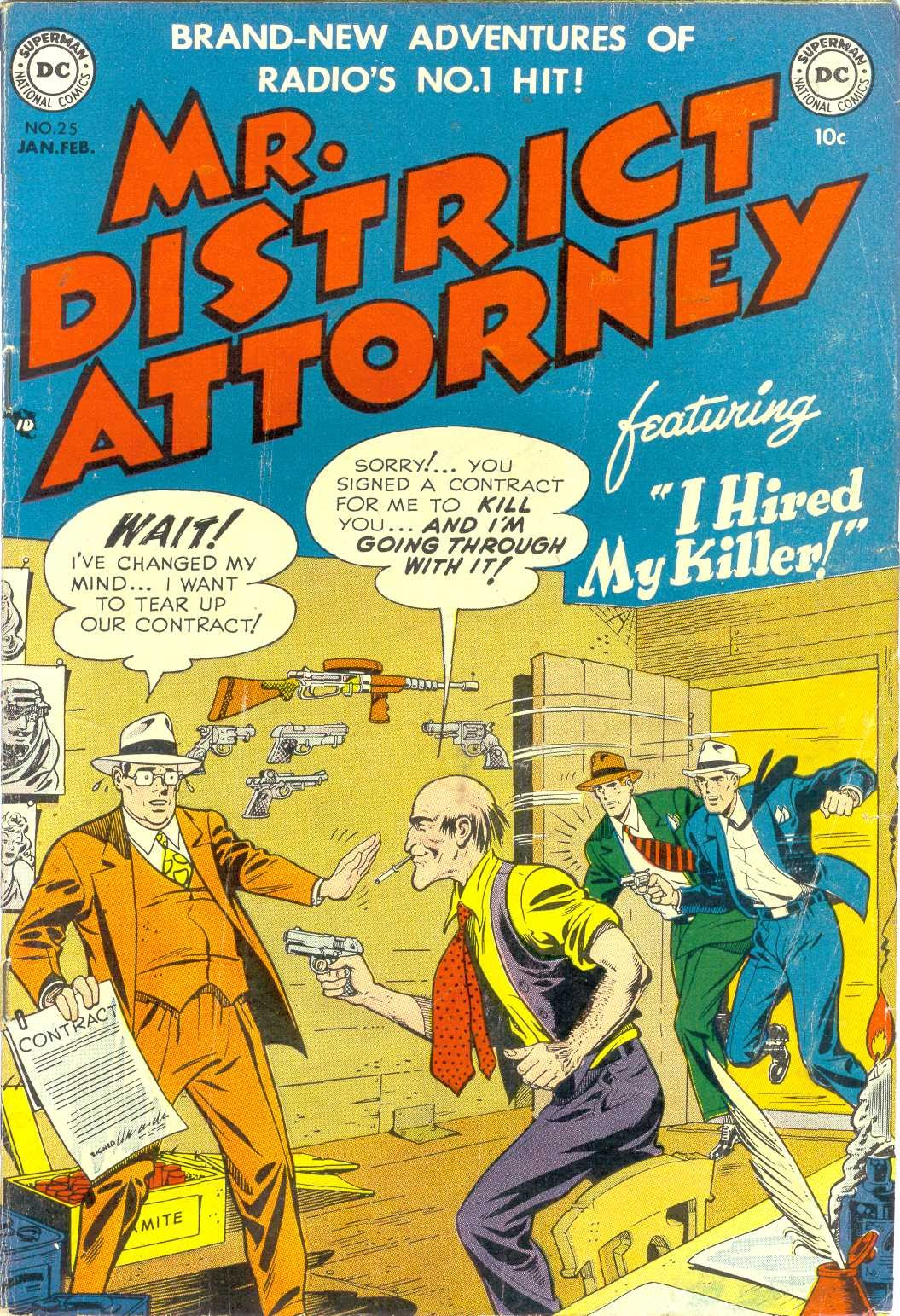 Mr. District Attorney issue 25 - Page 1