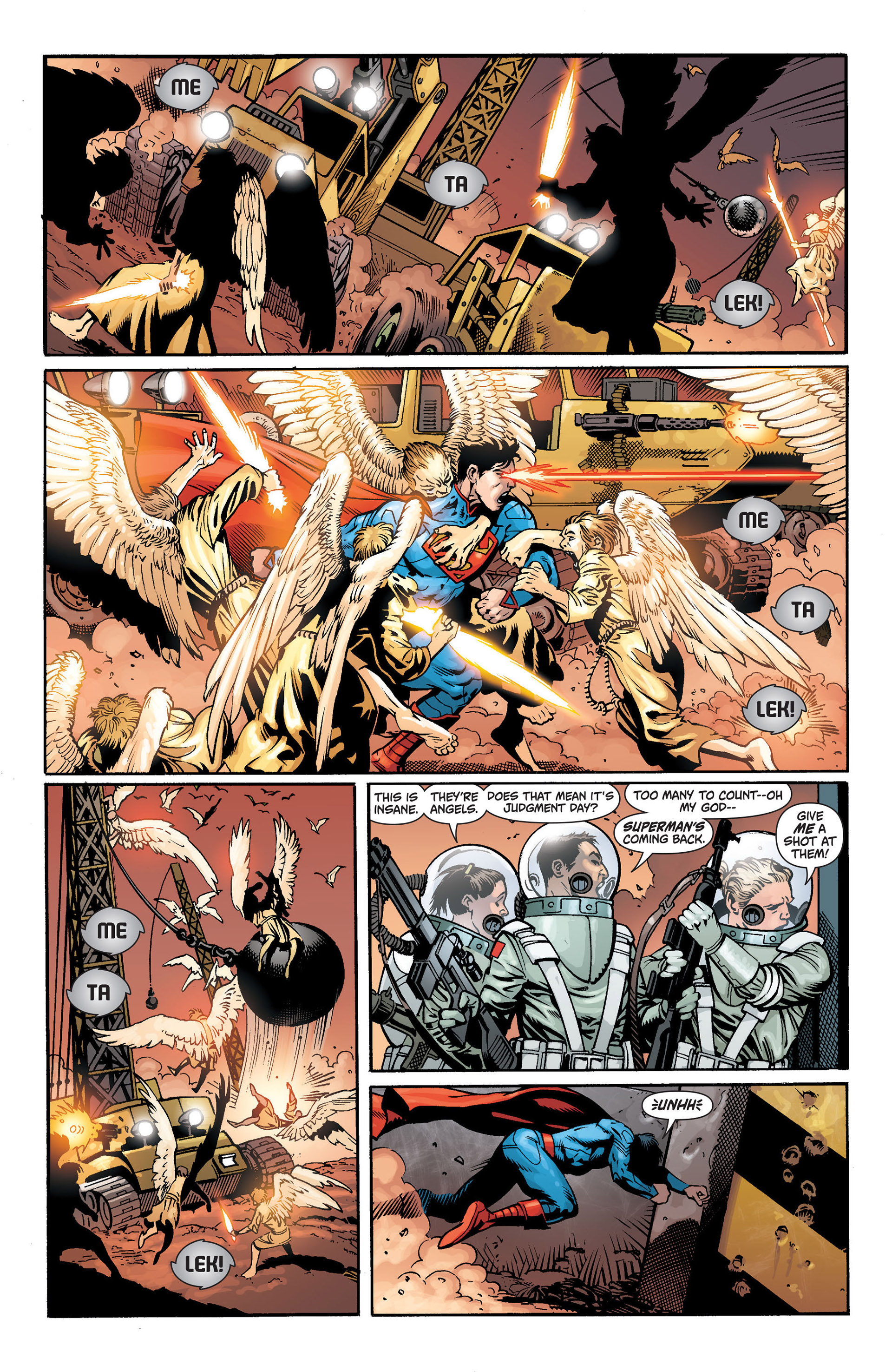 Read online Action Comics (2011) comic -  Issue #14 - 17
