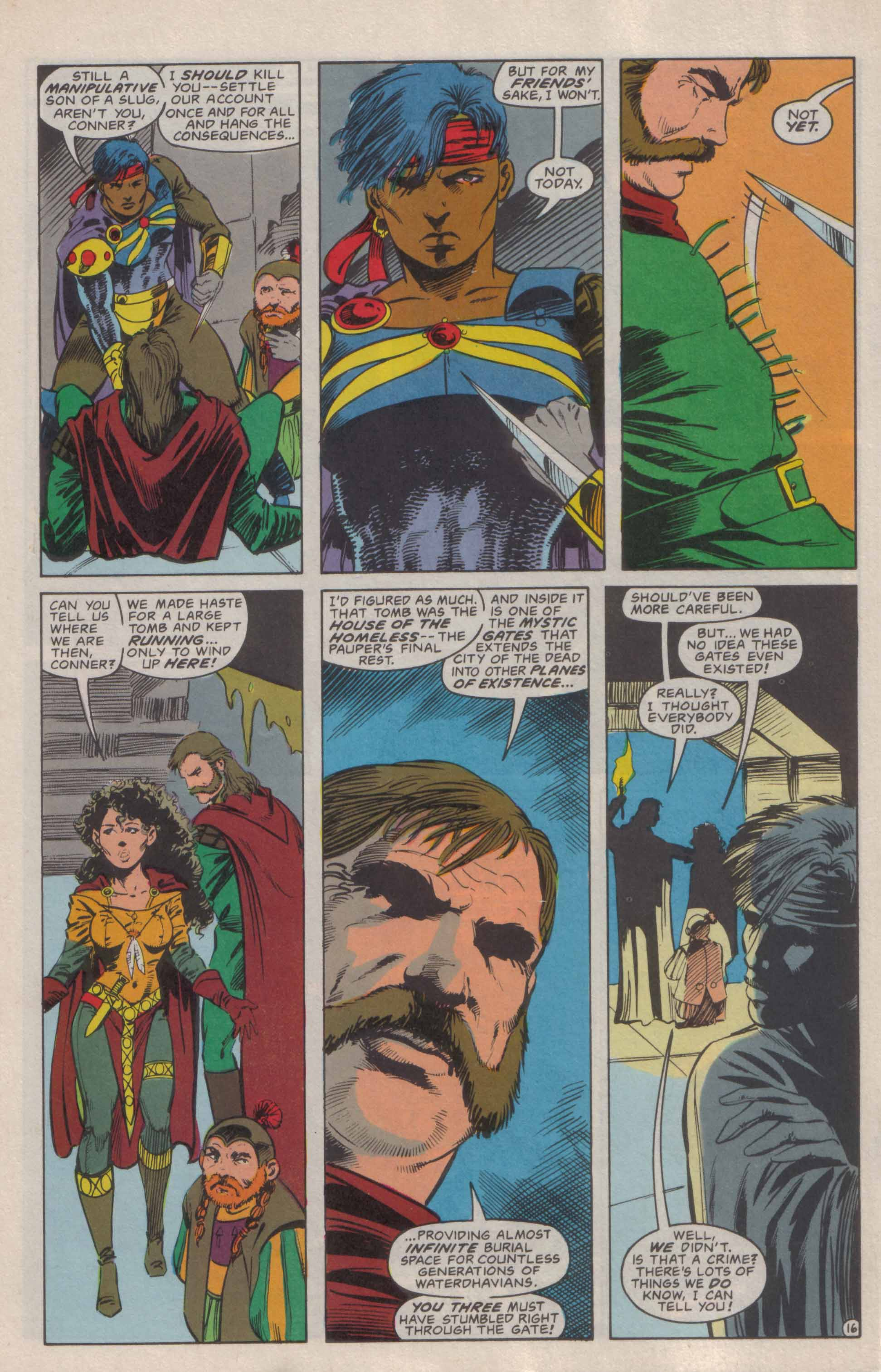 Read online Advanced Dungeons & Dragons comic -  Issue #6 - 17