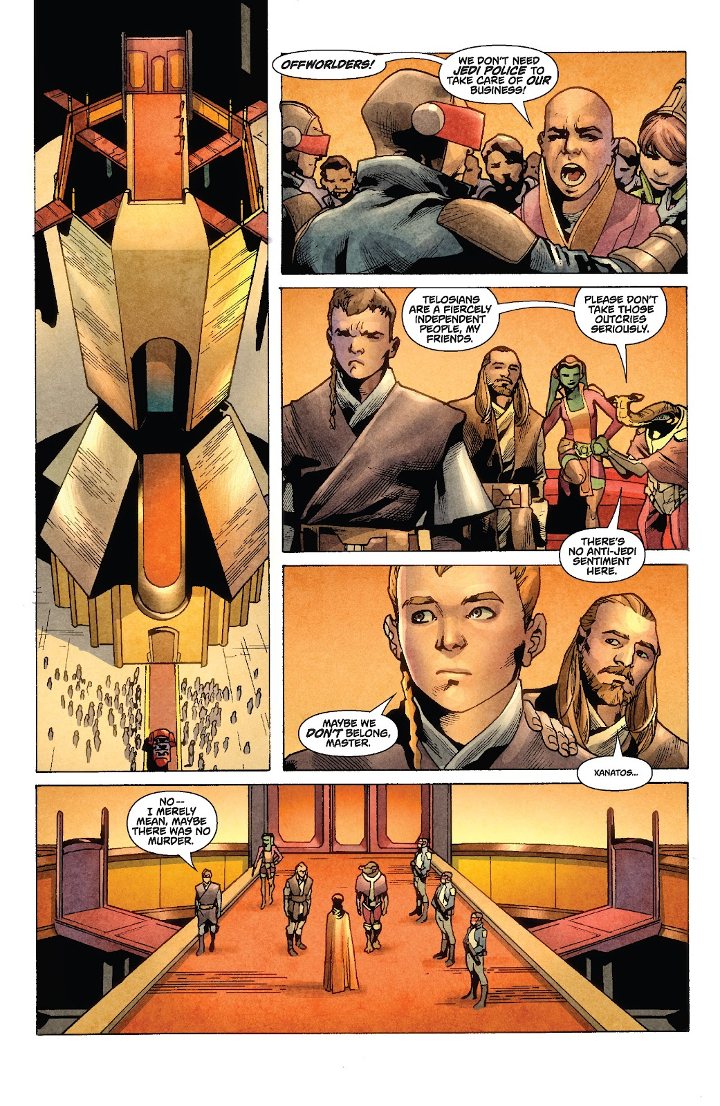 Read online Star Wars Legends: Rise of the Sith - Epic Collection comic -  Issue # TPB 1 (Part 2) - 17