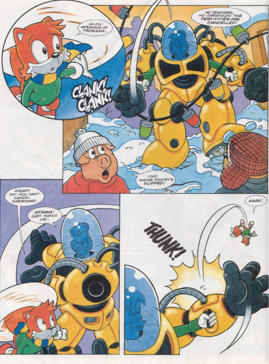 Read online Sonic the Comic comic -  Issue #119 - 12