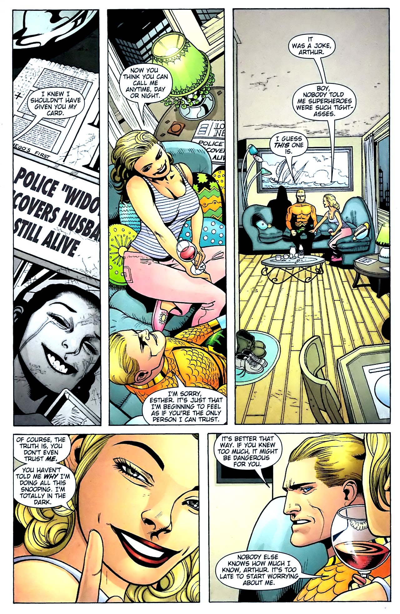 Read online Aquaman (2003) comic -  Issue #32 - 22