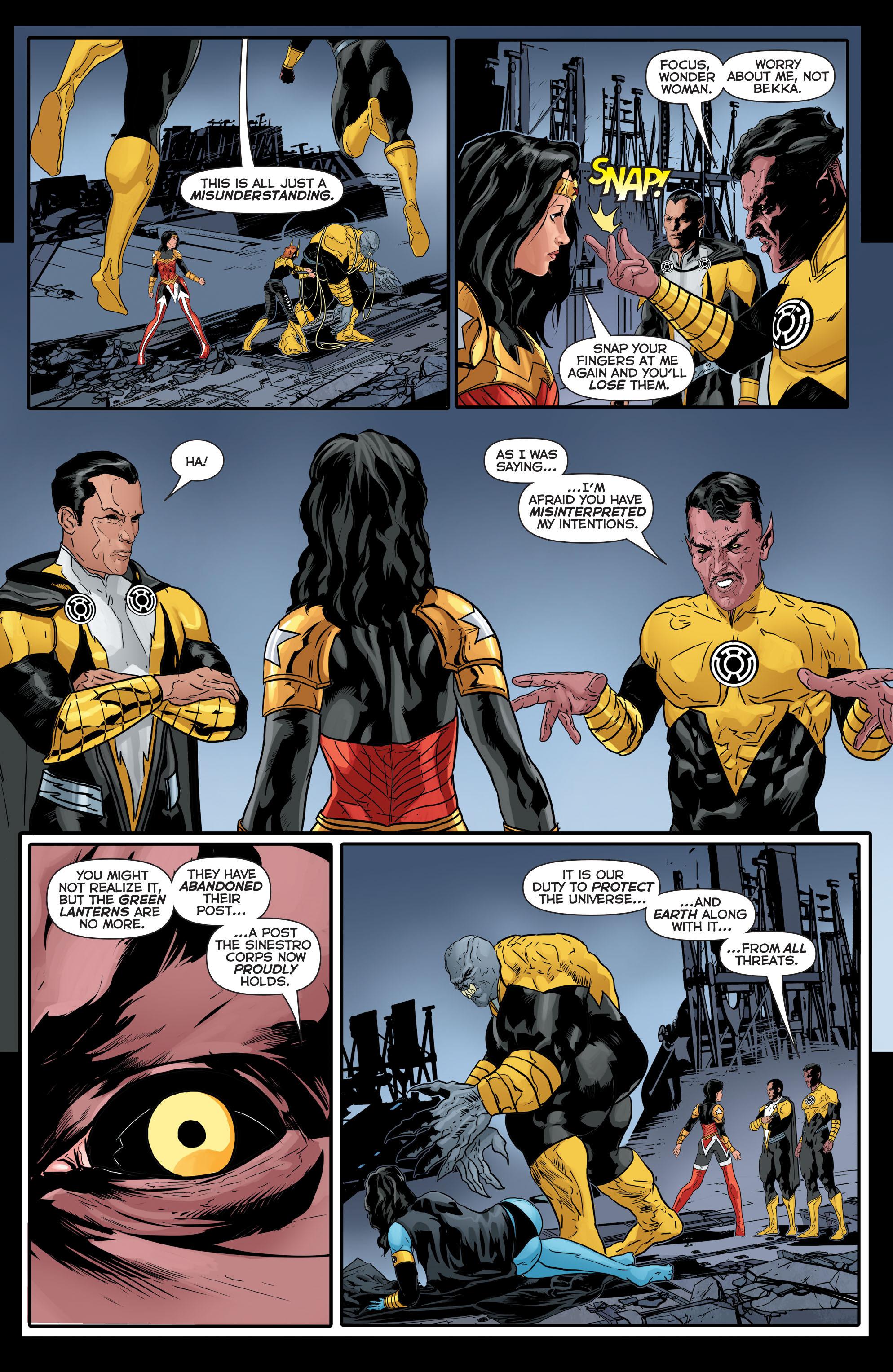 Read online Sinestro comic -  Issue #17 - 19