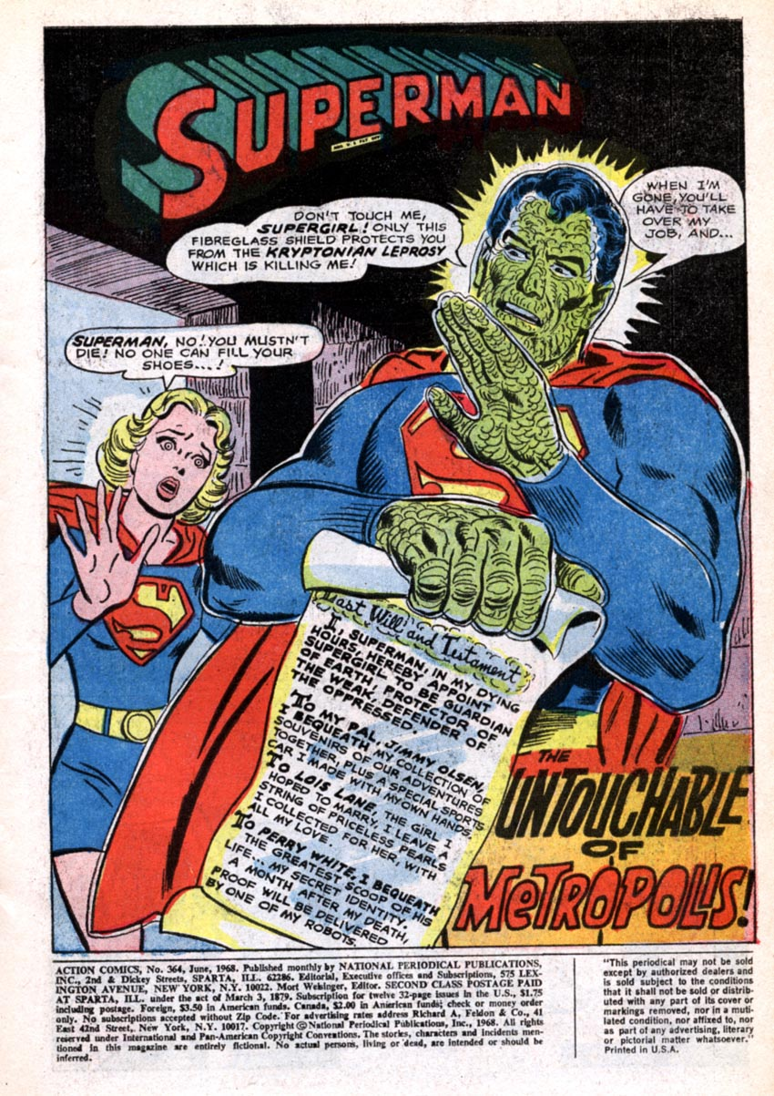 Read online Action Comics (1938) comic -  Issue #364 - 4