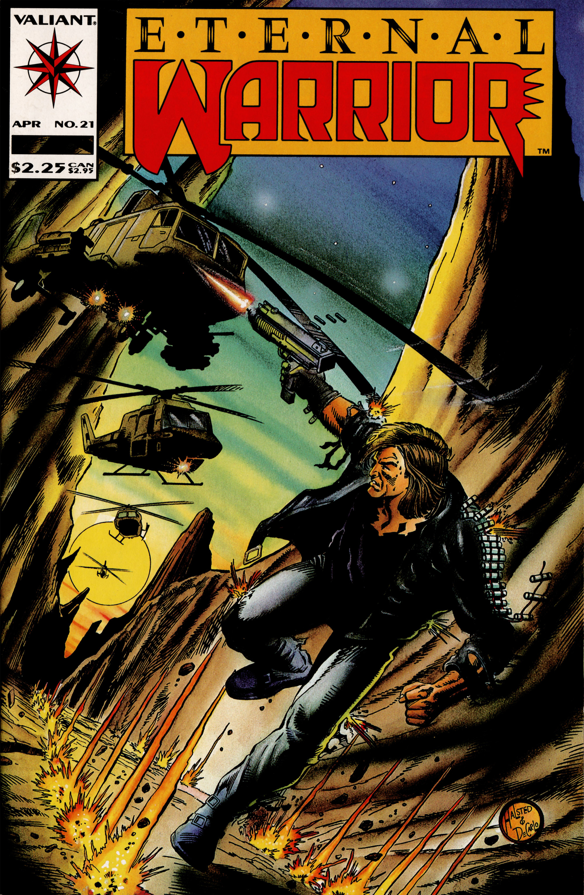 Read online Eternal Warrior (1992) comic -  Issue #21 - 1