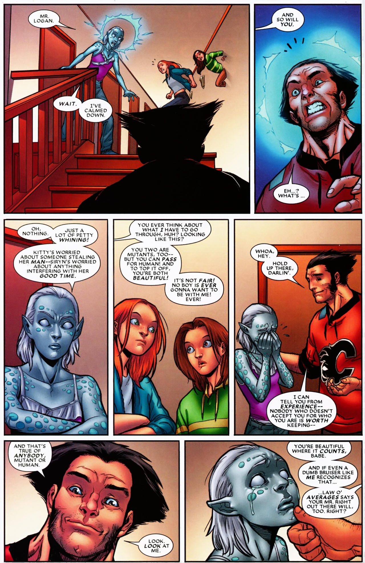 Read online Wolverine: First Class comic -  Issue #6 - 21