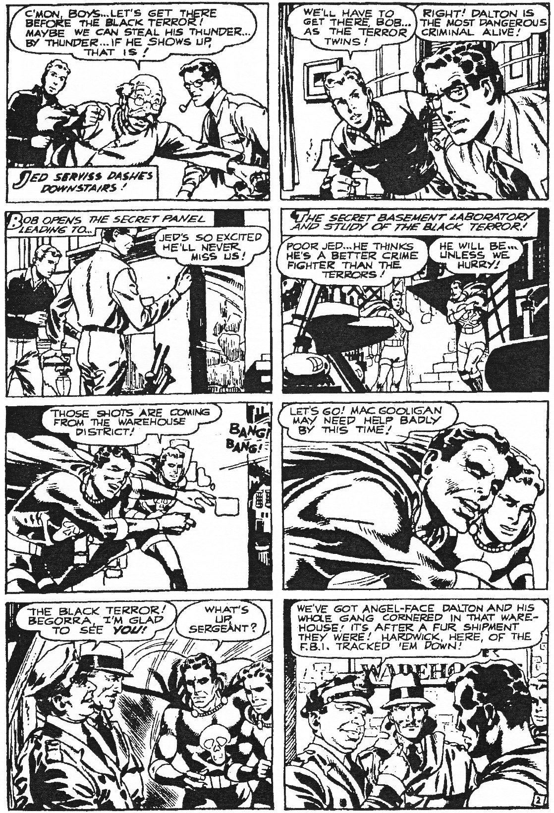 Read online Men of Mystery Comics comic -  Issue #84 - 30