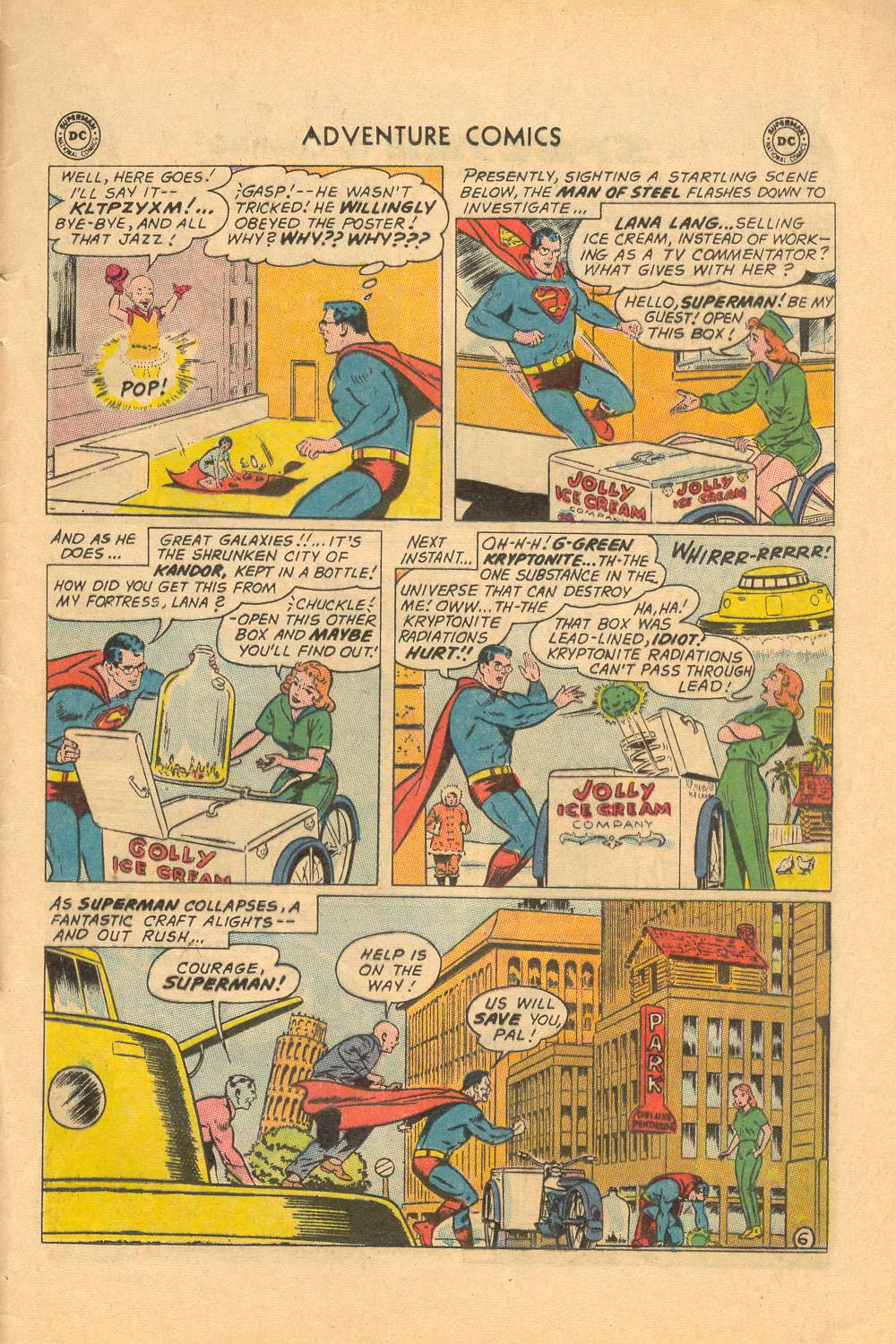 Read online Adventure Comics (1938) comic -  Issue #339 - 33