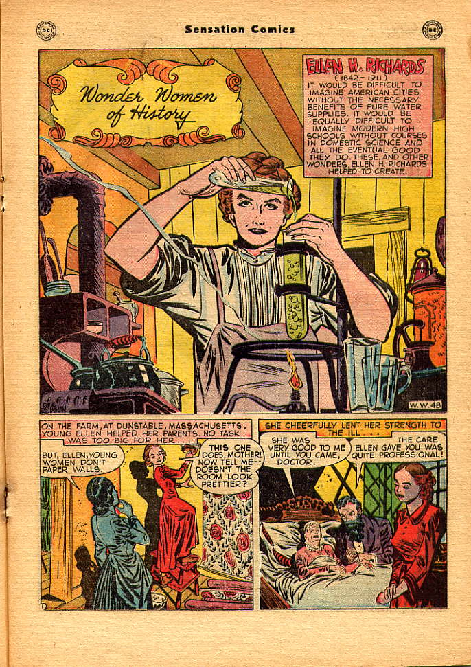 Read online Sensation (Mystery) Comics comic -  Issue #83 - 25