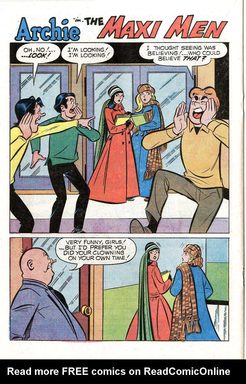 Read online Archie (1960) comic -  Issue #199 - 20