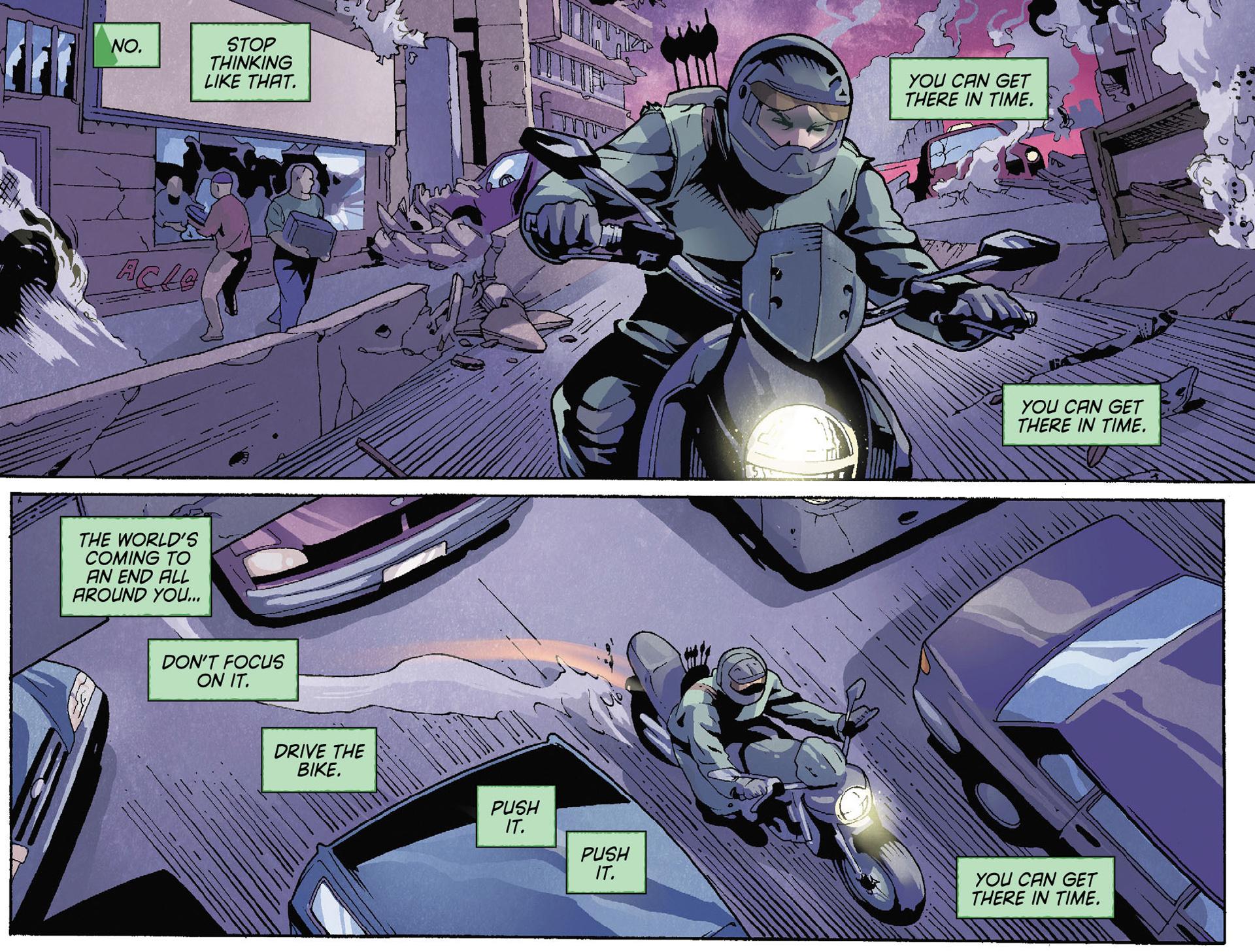 Read online Arrow [II] comic -  Issue #35 - 17
