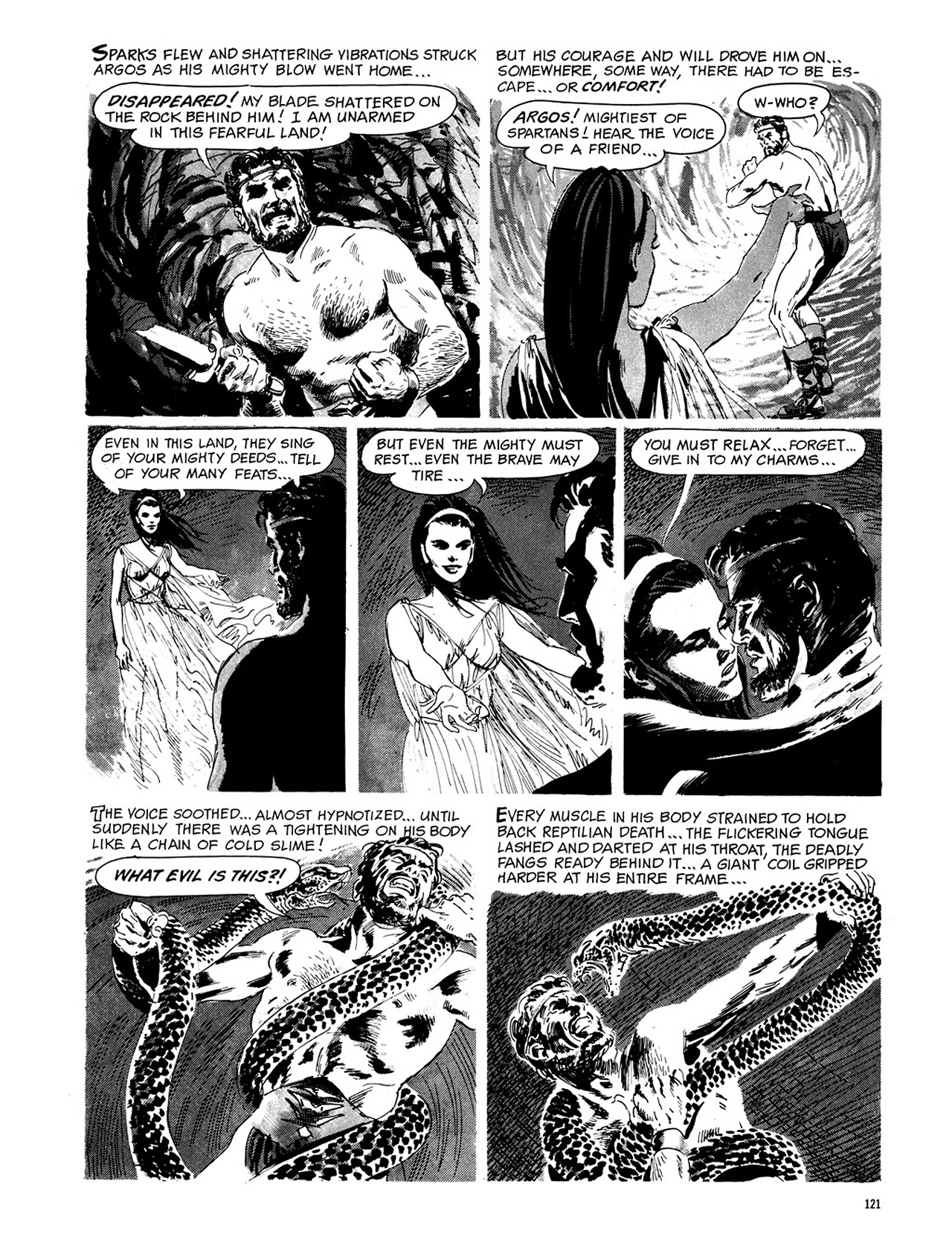 Read online Eerie Archives comic -  Issue # TPB 4 - 122