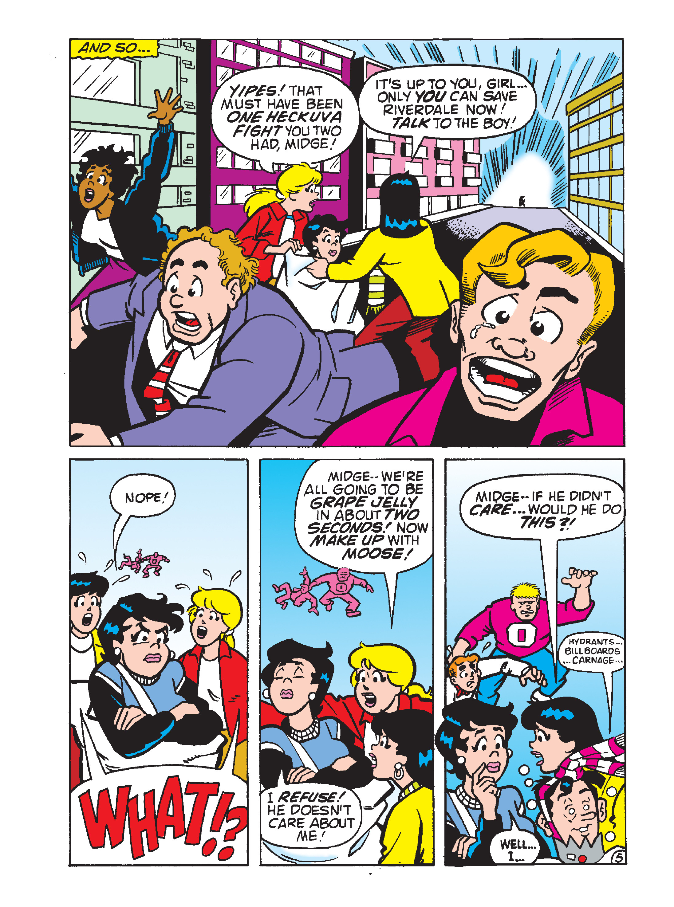 Read online Archie 75th Anniversary Digest comic -  Issue #4 - 154