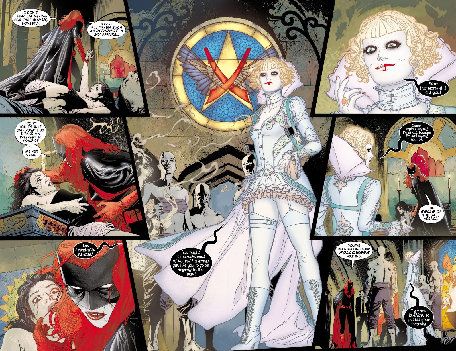 Read online Detective Comics (1937) comic -  Issue # _TPB Batwoman - Elegy (Part 1) - 24