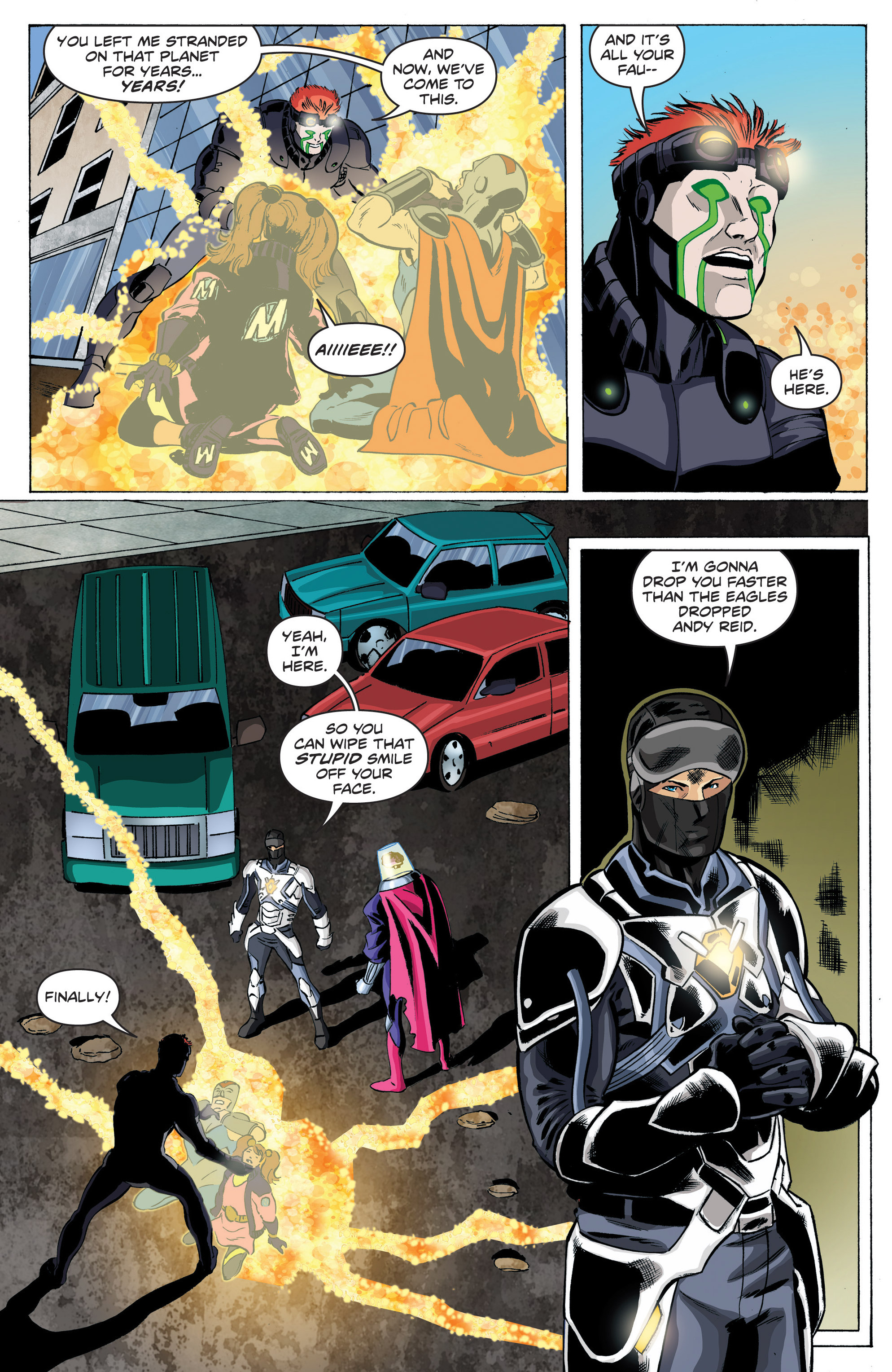 Read online Actionverse comic -  Issue #6 - 8